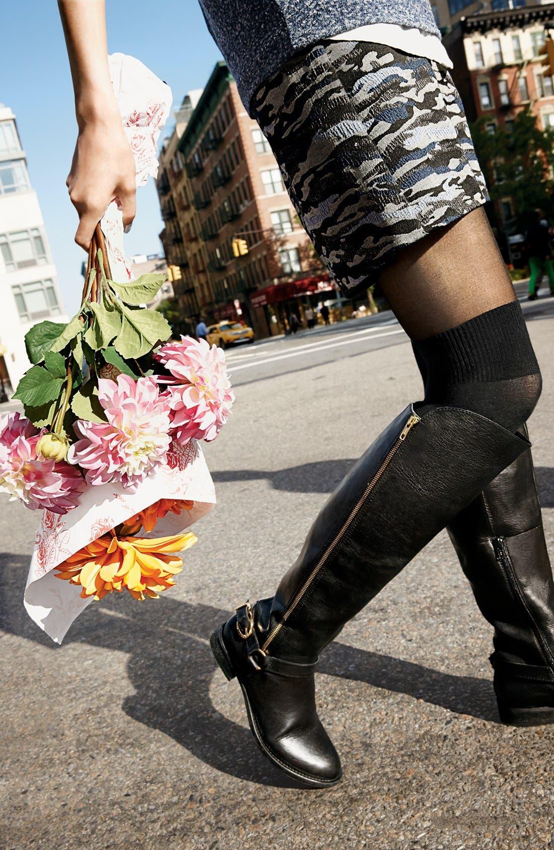 Alternate Image 4  - Pretty Polly 'Secret Socks' Tights
