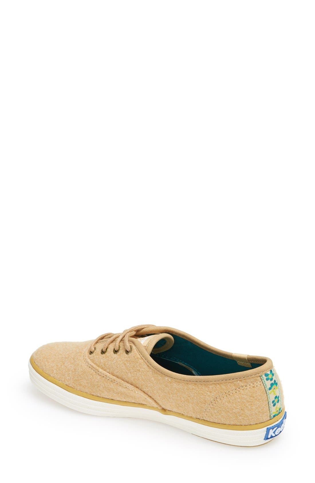Alternate Image 2  - Keds® 'Champion Felt' Sneaker (Women)