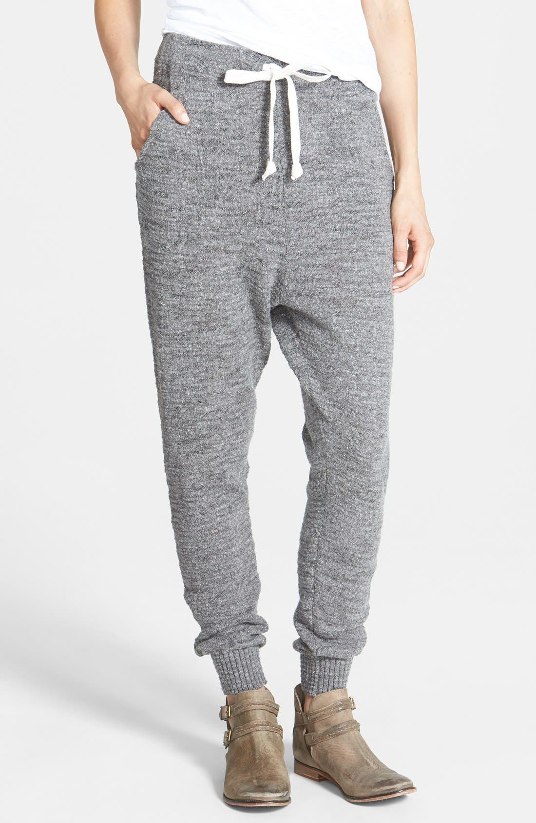 Main Image - Free People Sweater Knit Harem Pants