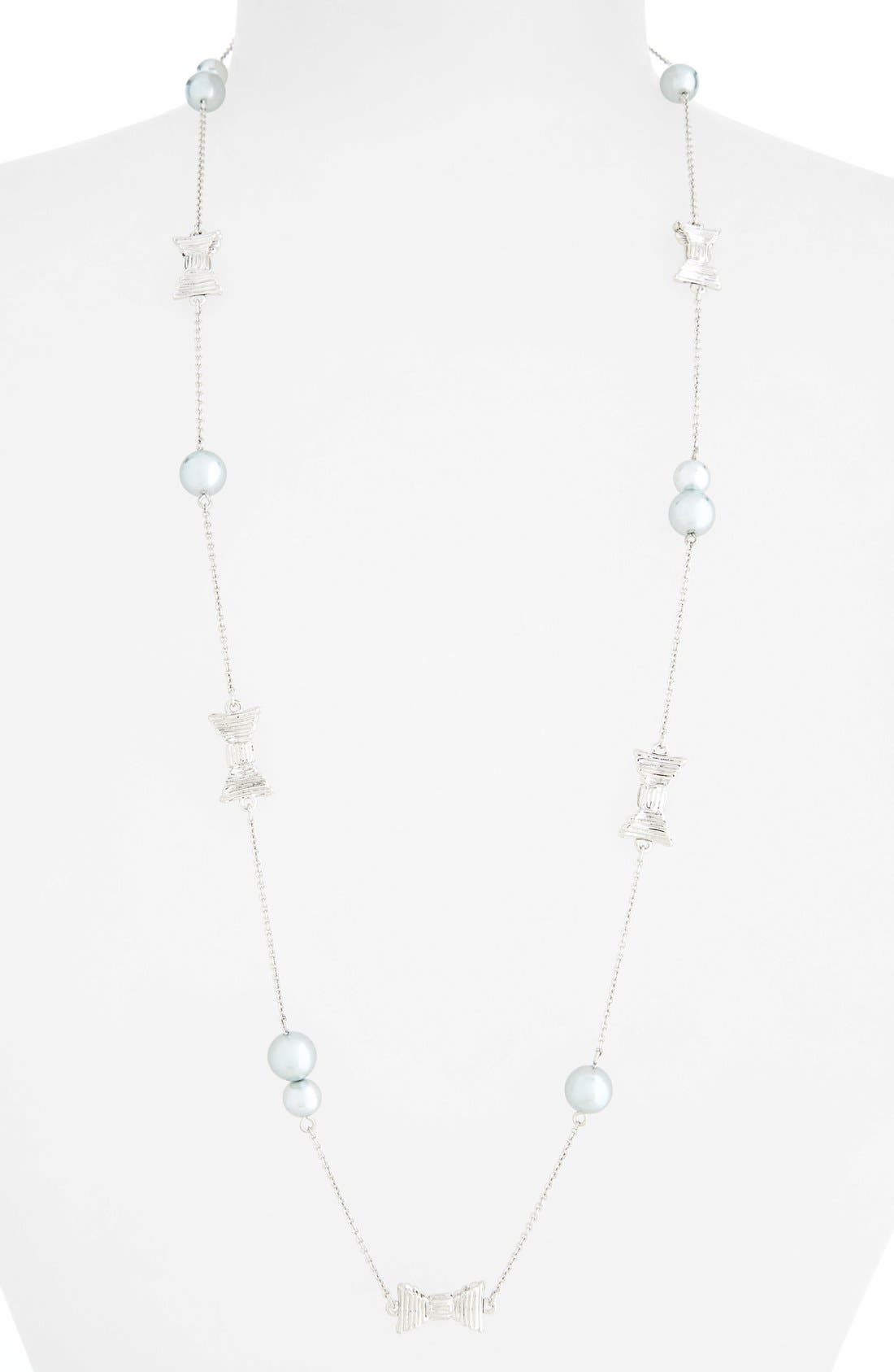 Alternate Image 1 Selected - kate spade new york 'all wrapped up' station necklace