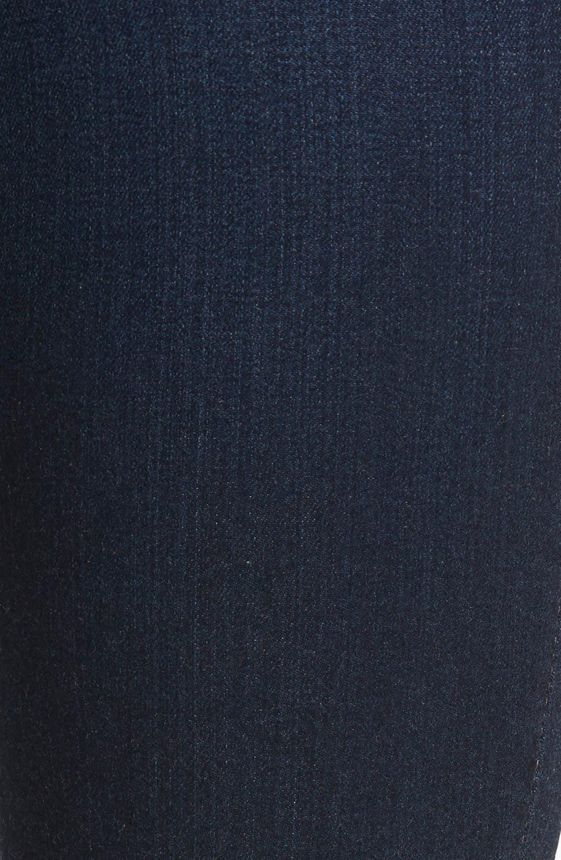 'Prima' Mid Rise Skinny Jeans,                             Alternate thumbnail 3, color,                             Jet Setter