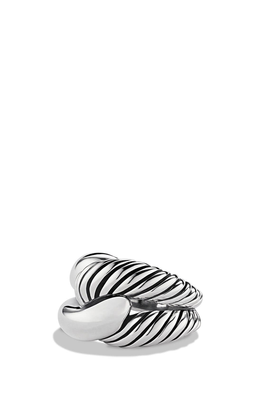 'Infinity' Large Ring,                         Main,                         color, Silver