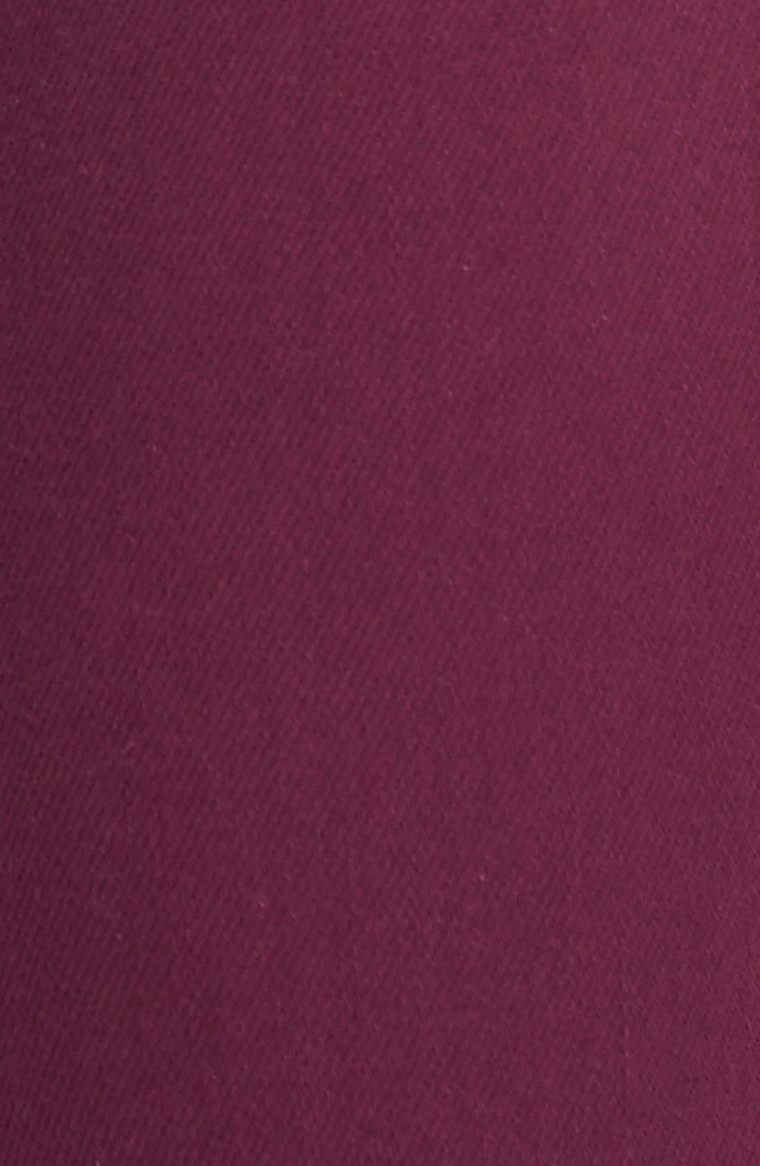 Alternate Image 3  - Paige Denim 'Hoxton' Ultra Skinny Jeans (Passion Plum)