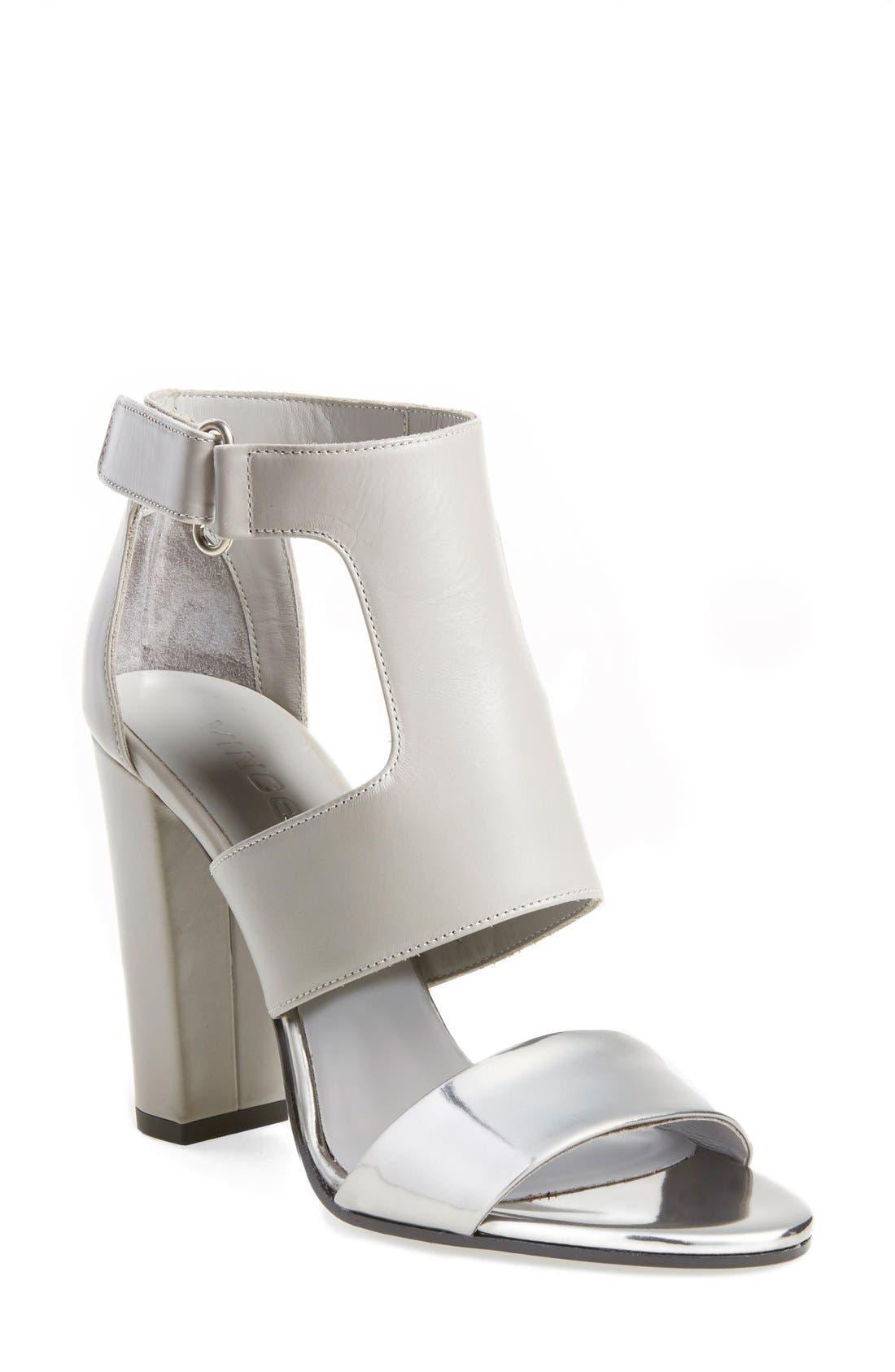 Alternate Image 1 Selected - Vince 'Aretha' Colorblock Sandal (Women)
