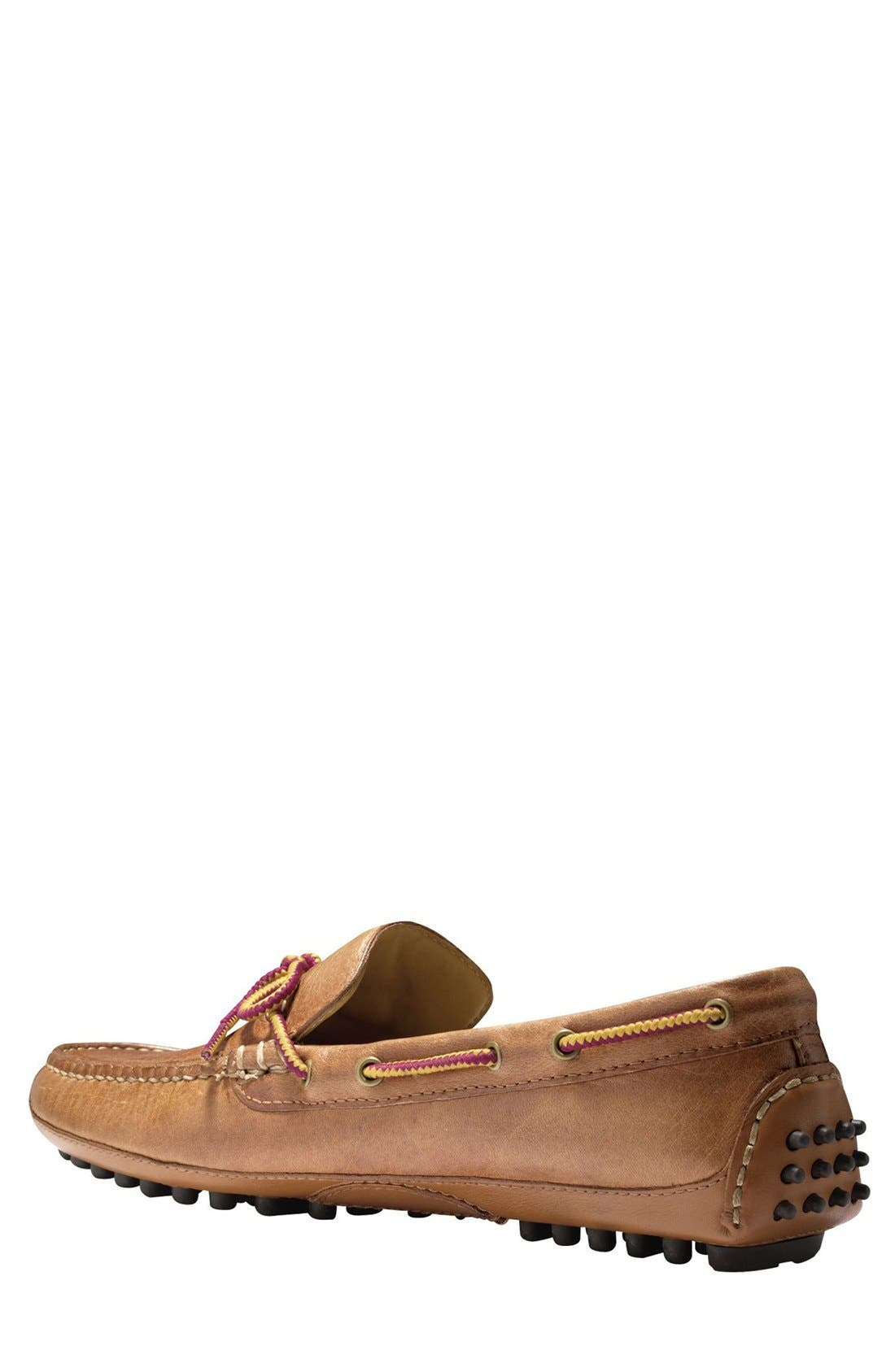 'Grant Canoe Camp' Driving Moccasin,                             Alternate thumbnail 2, color,                             British Tan
