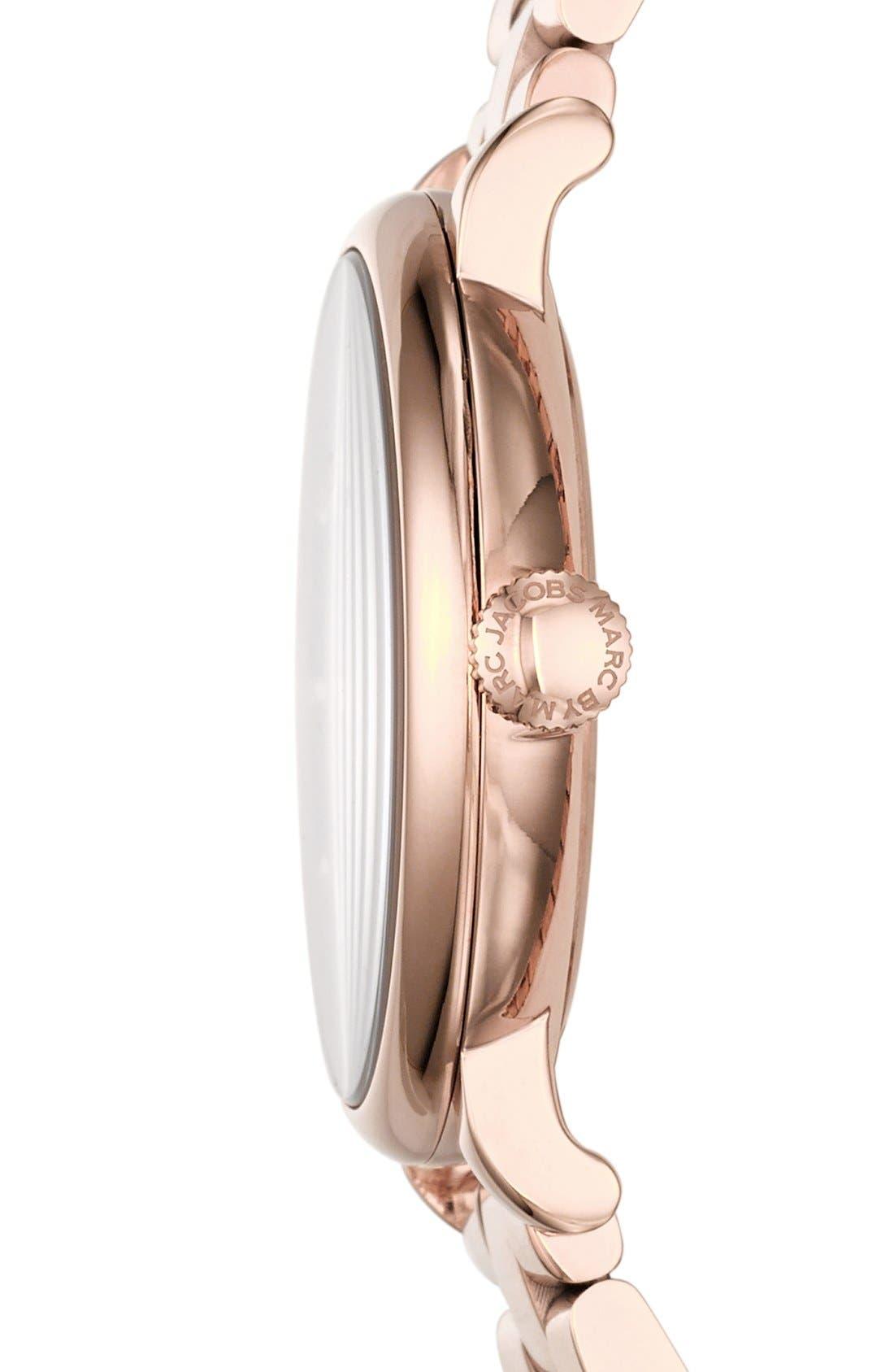 Alternate Image 3  - MARC JACOBS 'Baker' Bracelet Watch, 37mm