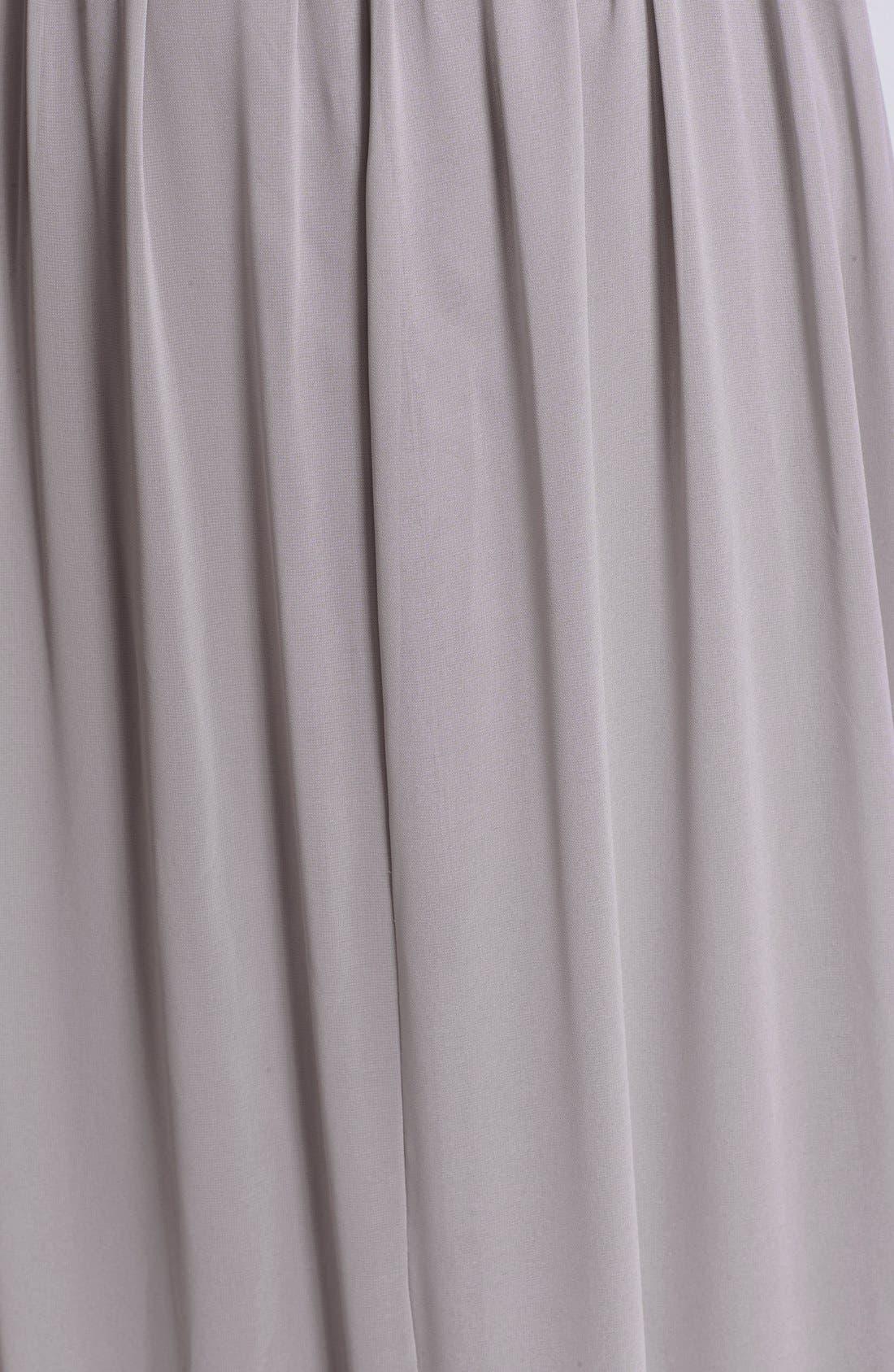 Alternate Image 3  - Donna Morgan 'Audrey' Strapless Chiffon Gown