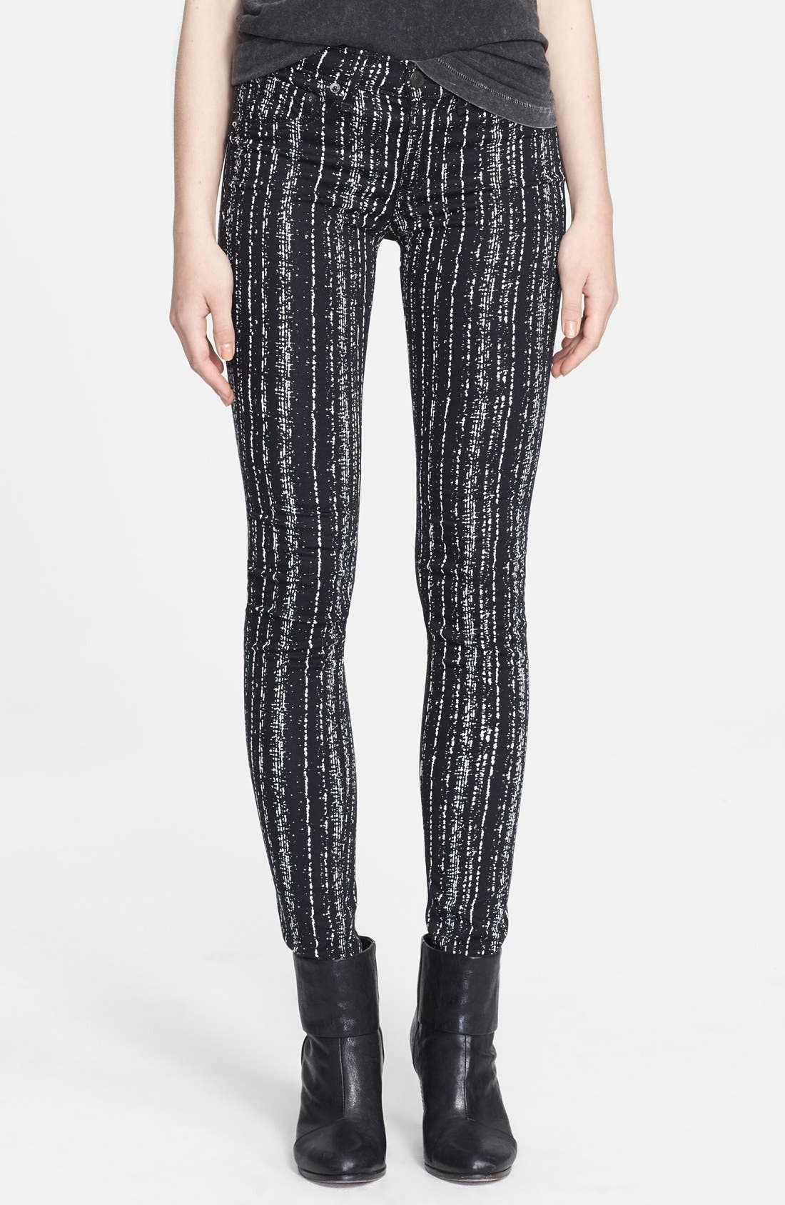 Alternate Image 1 Selected - rag & bone/JEAN Plush Twill Leggings