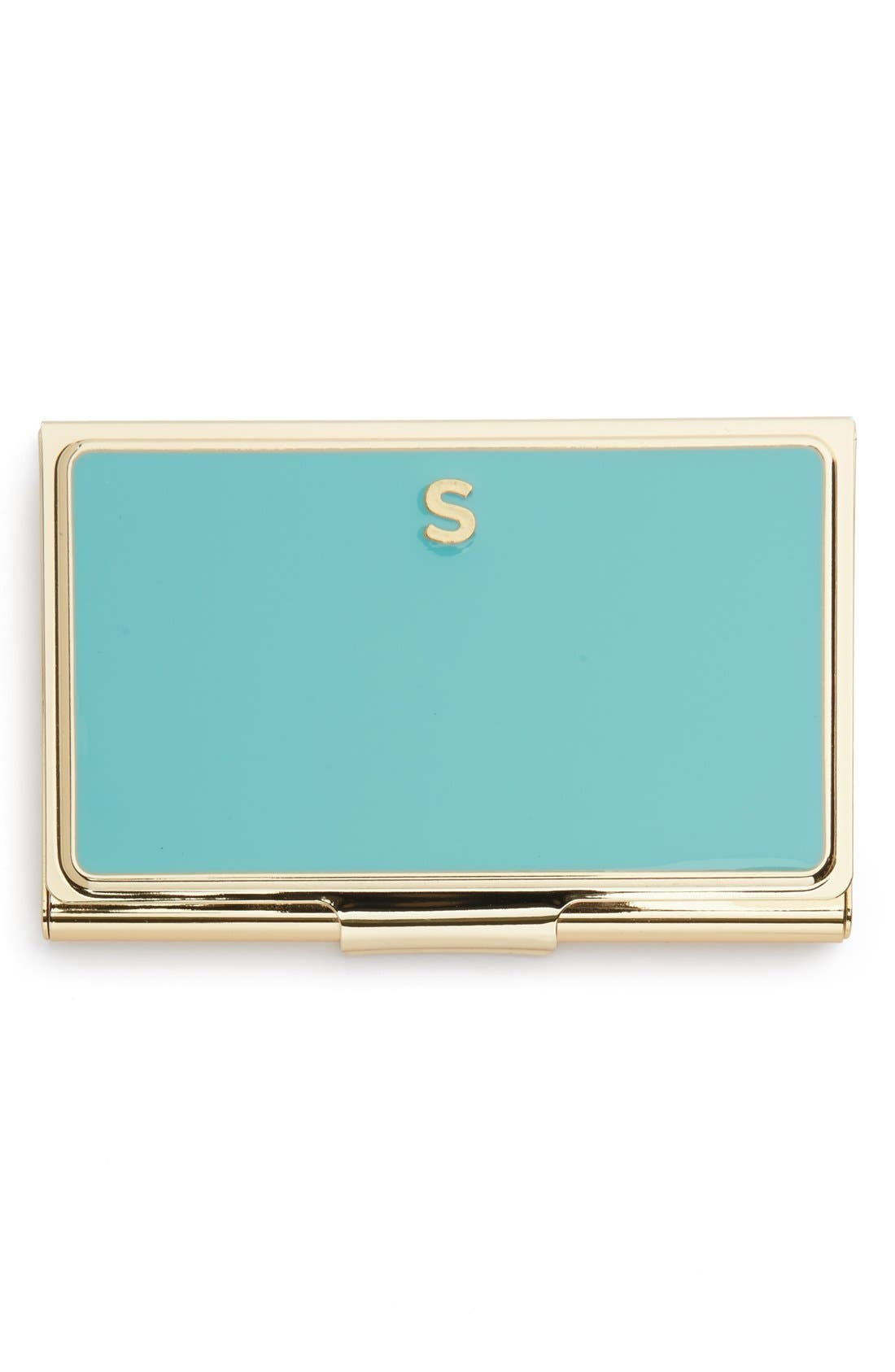 Alternate Image 1 Selected - kate spade new york 'one in a million' business card holder