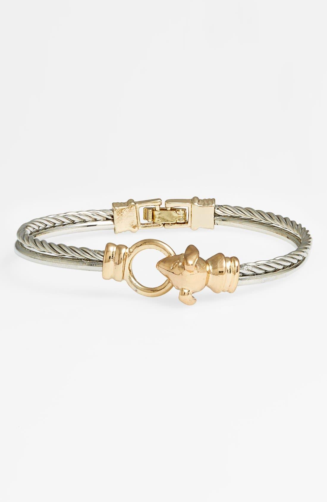 Main Image - Topshop Dog Head Bracelet