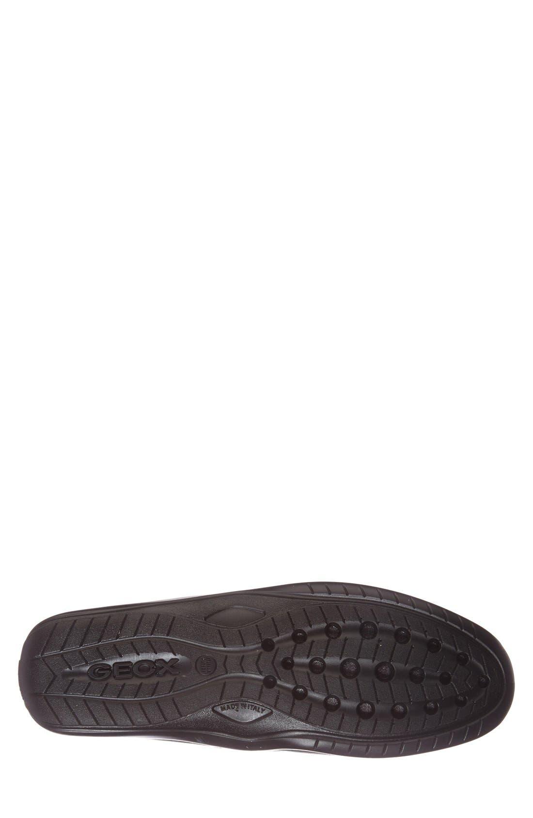 Alternate Image 4  - Geox 'U Xense Mox' Driving Shoe (Men)