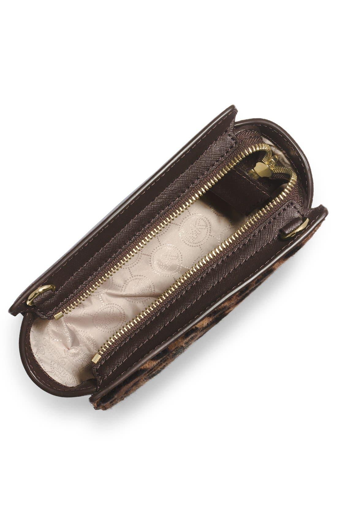 Alternate Image 2  - MICHAEL Michael Kors 'Mini Selma' Calf Hair & Leather Messenger Bag