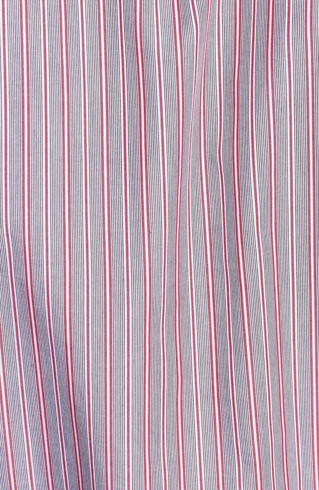 Alternate Image 3  - Cutter & Buck 'Epic Easy Care' Classic Fit Wrinkle Resistant Stripe Sport Shirt