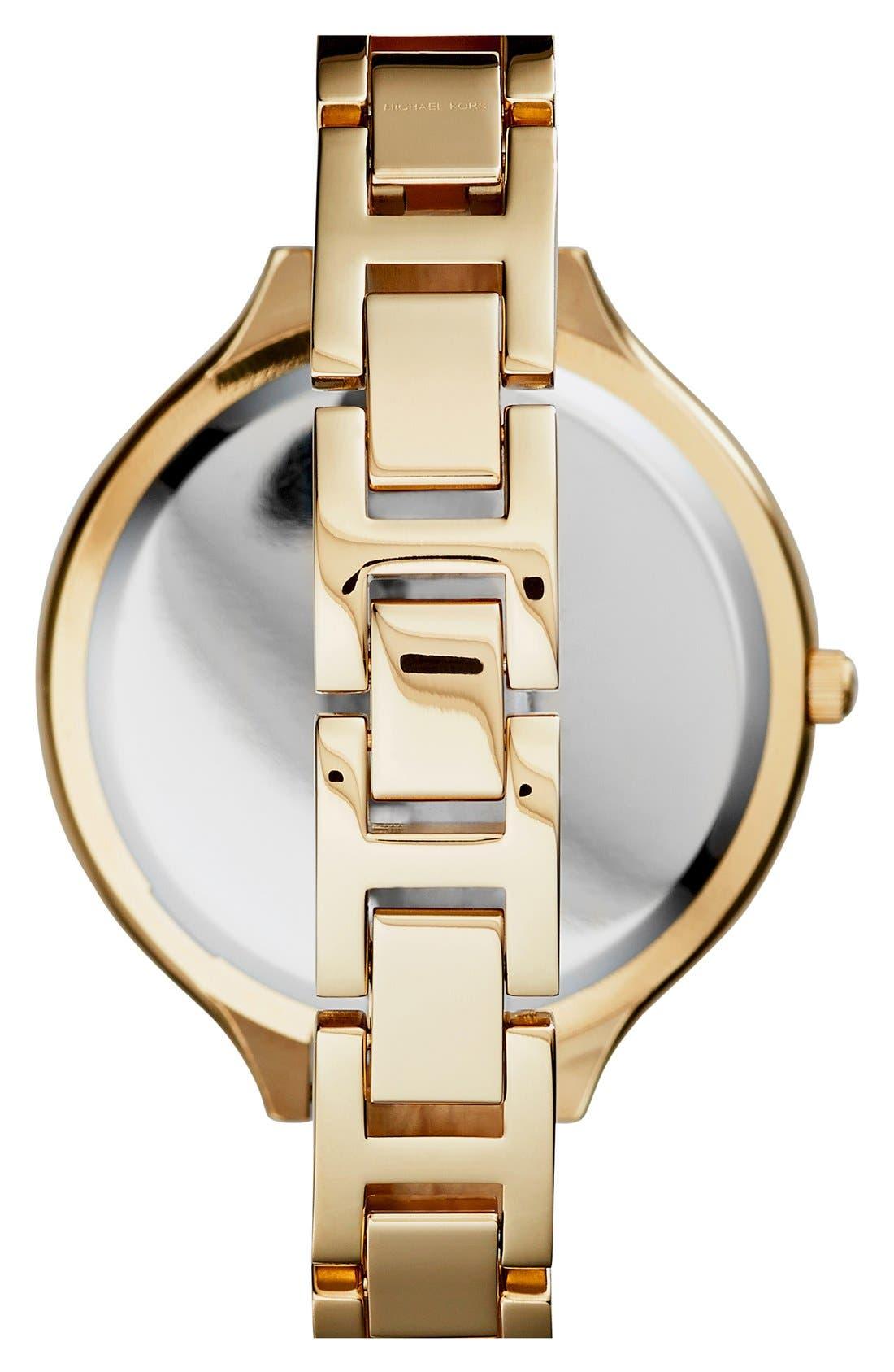 Alternate Image 2  - Michael Kors 'Slim Runway' Round Bangle Watch, 43mm