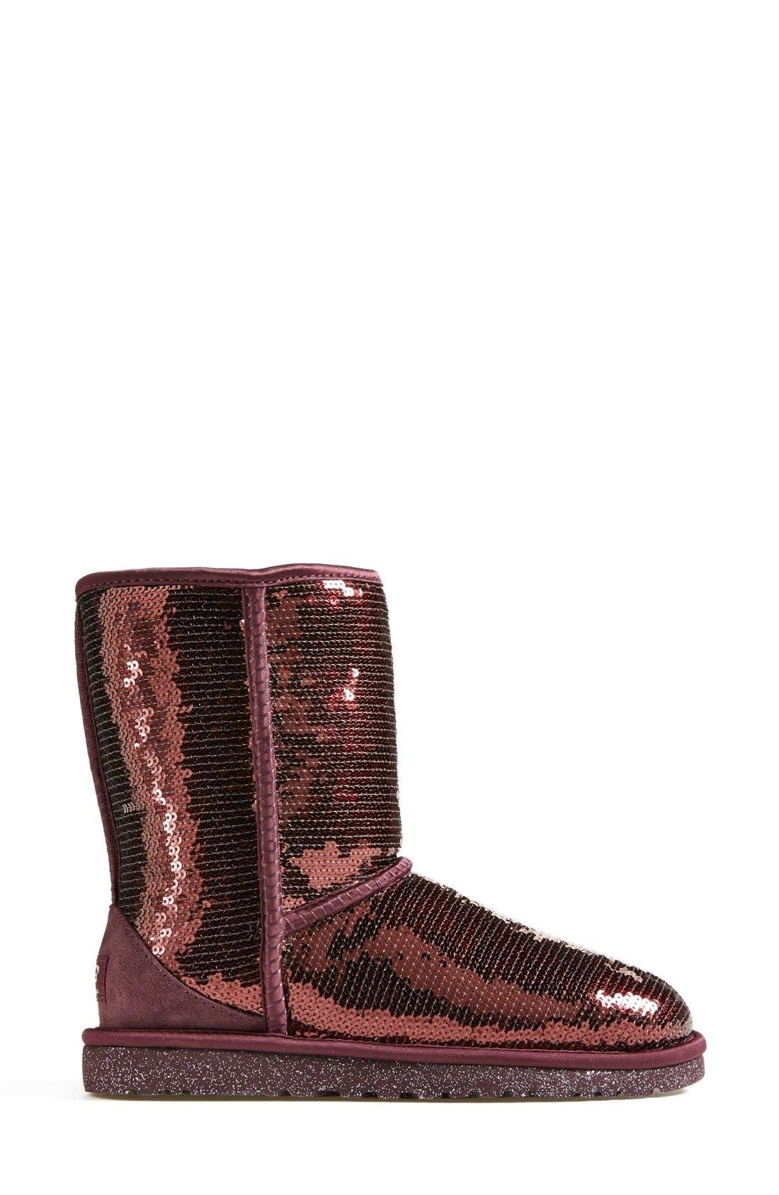 Alternate Image 7  - UGG® Australia 'Classic Short Sparkles' Boot (Women)