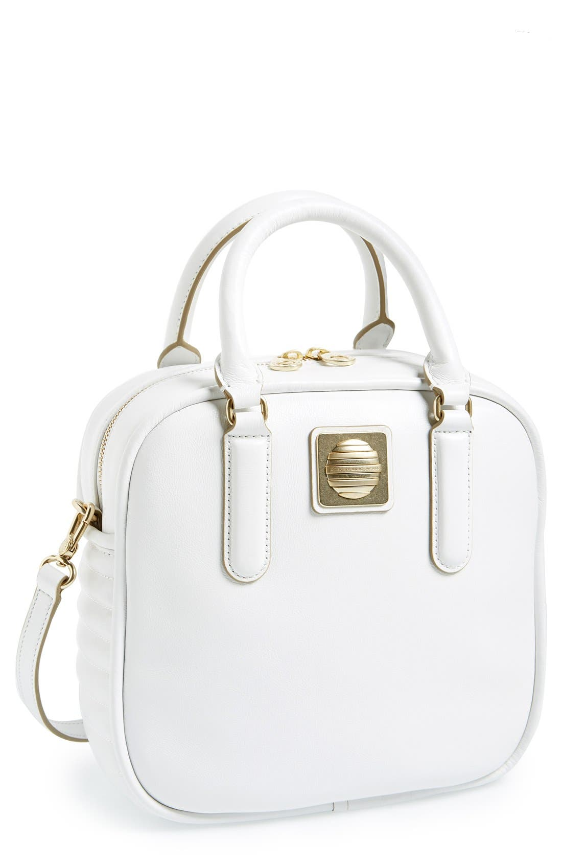 Alternate Image 1 Selected - MARC BY MARC JACOBS 'The Big Bind - Stevie' Leather Satchel