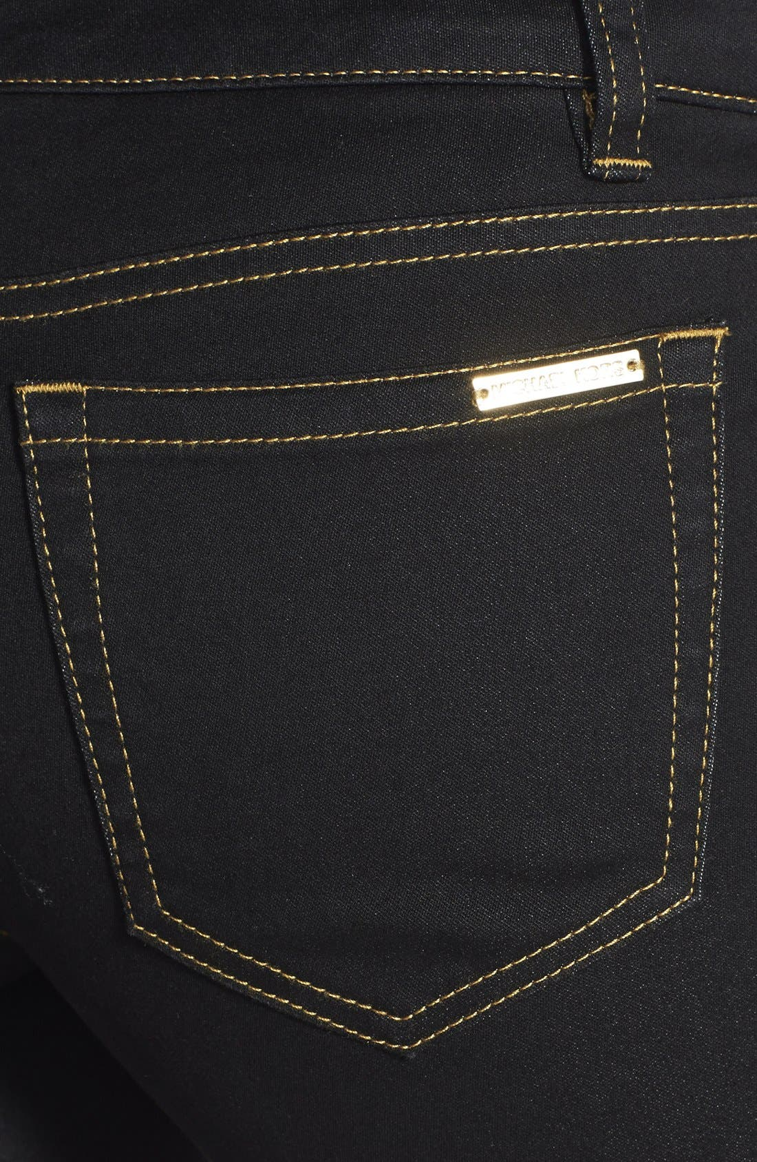Alternate Image 3  - MICHAEL Michael Kors Stretch Straight Leg Jeans