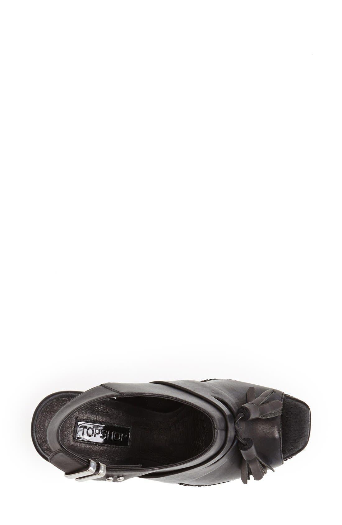 Alternate Image 3  - Topshop 'Sassy' Platform Sandal