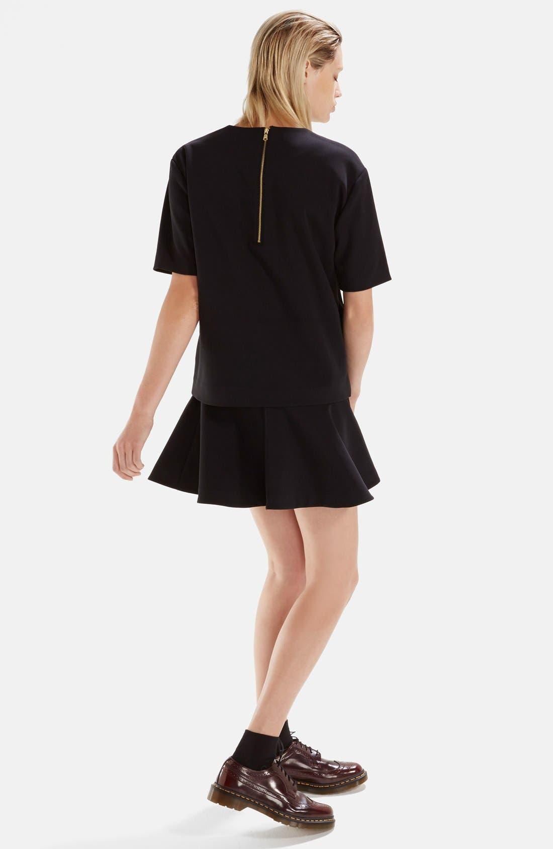 Alternate Image 4  - izzue Bonded T-Shirt Dress (Women)