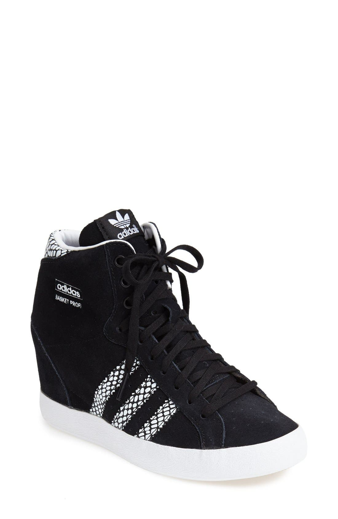 adidas originals superstar concealed wedge high top trainers