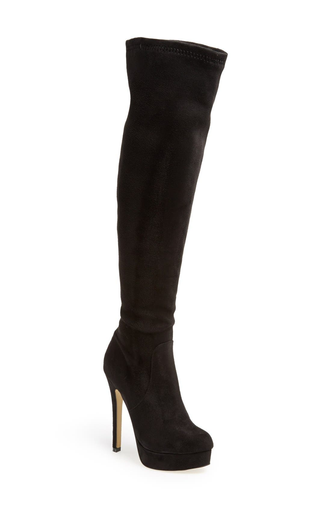 Main Image - Chinese Laundry 'Luster' Over the Knee Platform Boot (Women)