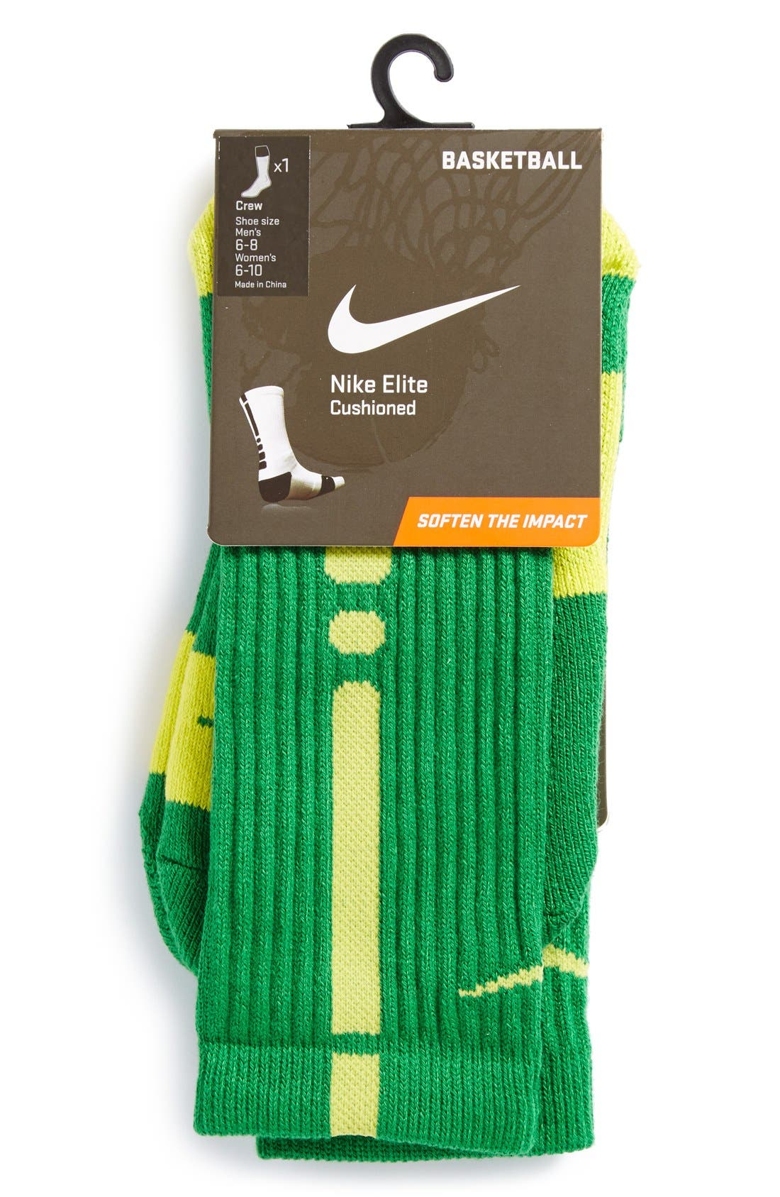 Alternate Image 2  - Nike 'Elite Basketball' Crew Socks (Boys)