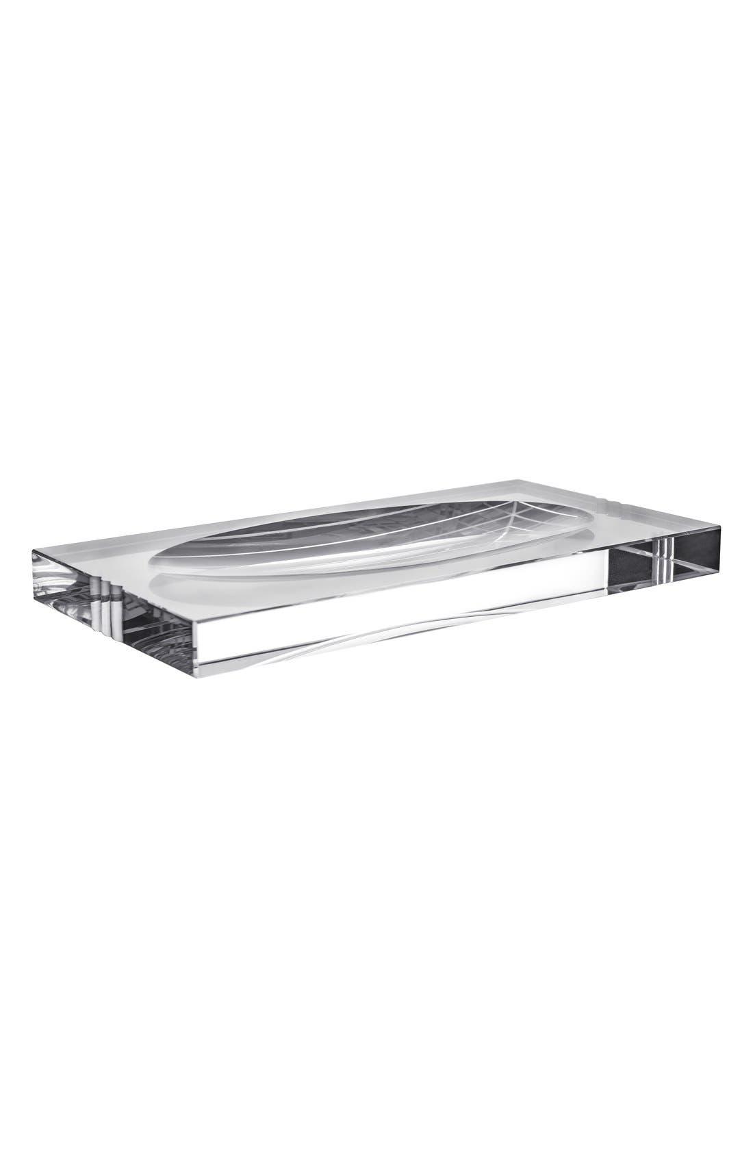 'Ice' Vanity Tray,                         Main,                         color, White