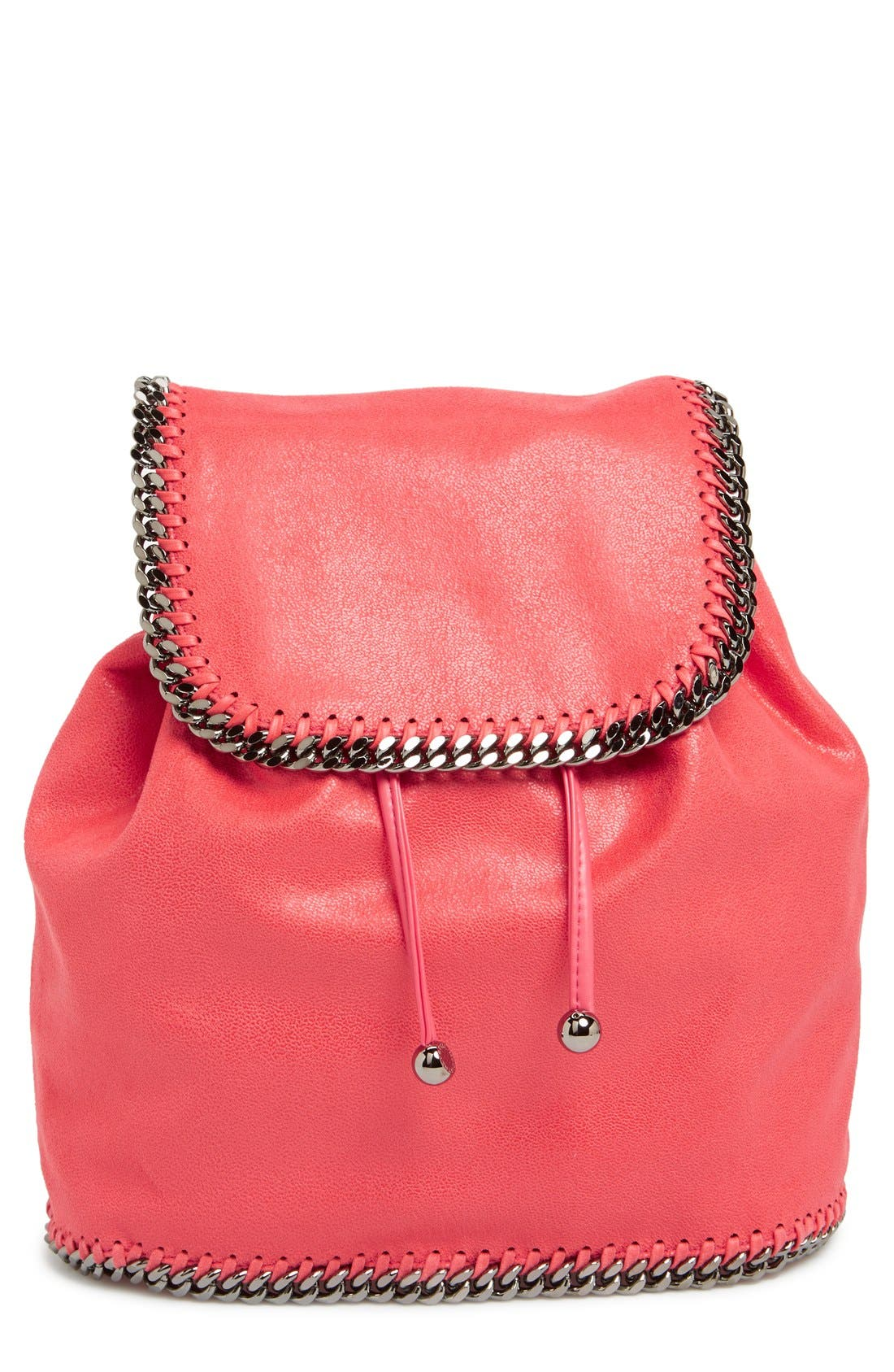 Main Image - Stella McCartney 'Falabella - Shaggy Deer' Faux Leather Backpack