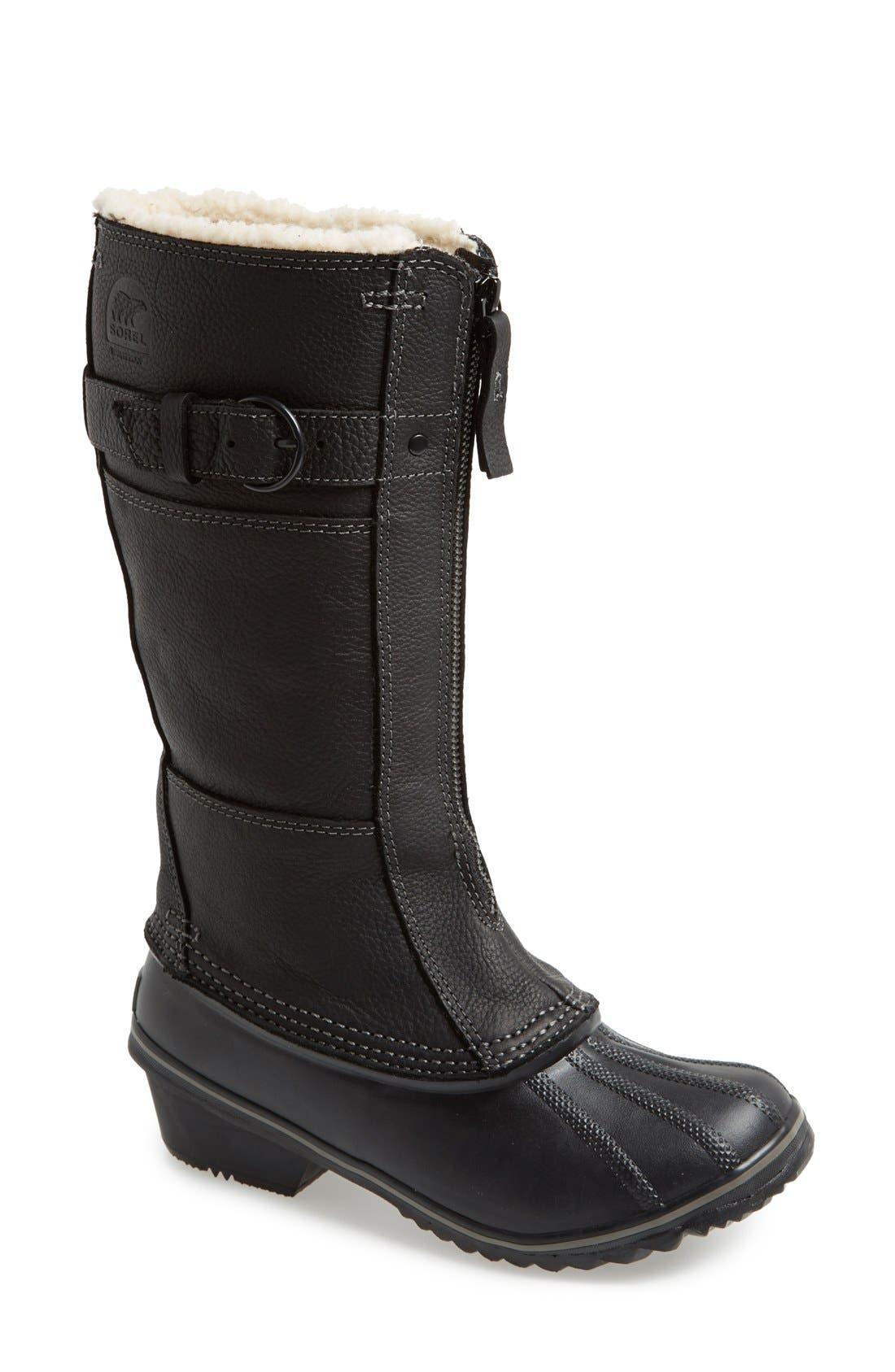sorel winter fancy ii waterproof snow boot