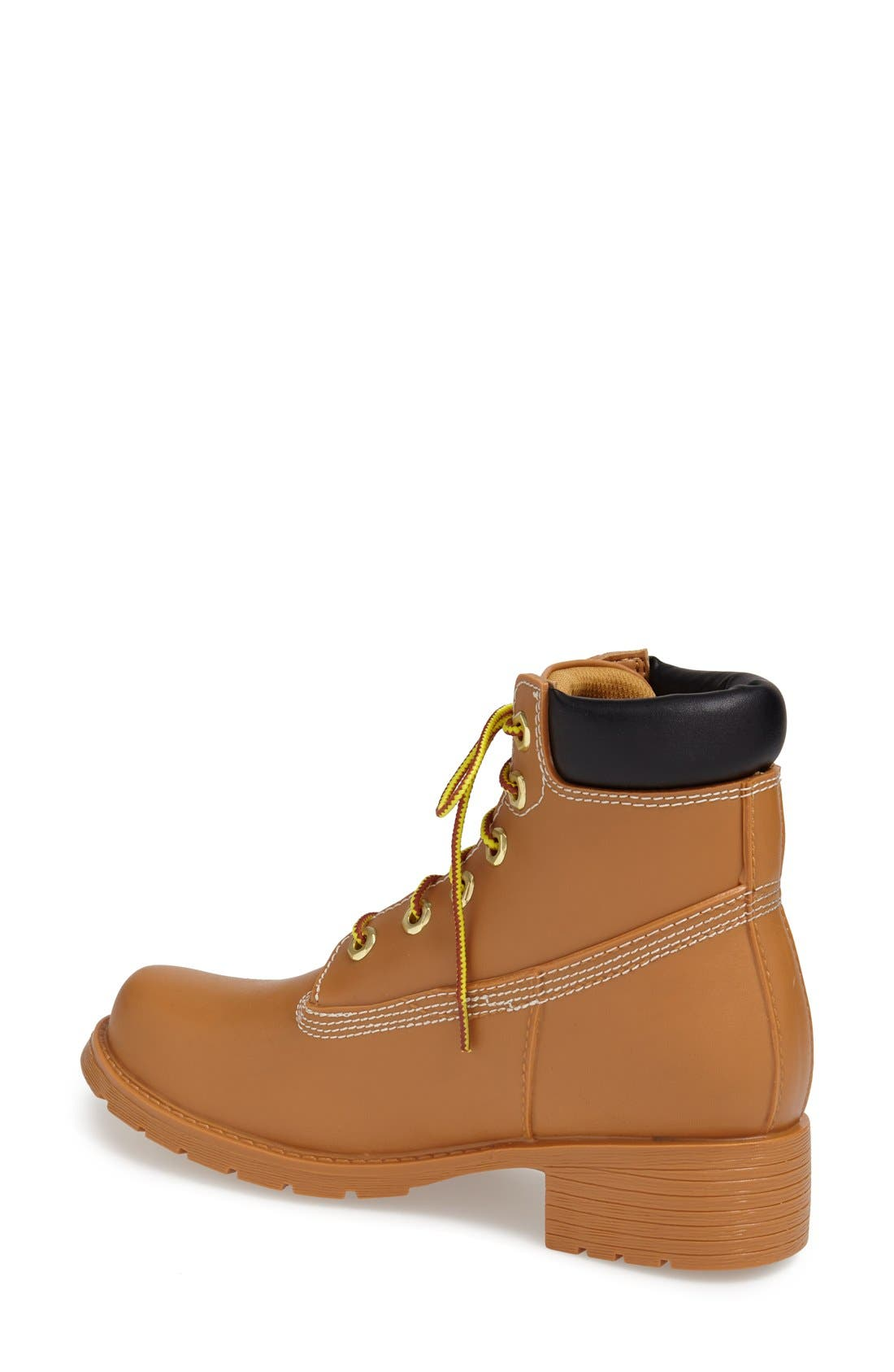 Alternate Image 2  - Jeffrey Campbell 'Deluge' Water Resistant Military Boot (Women)