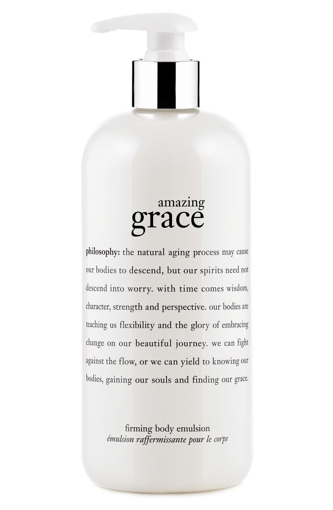 philosophy 'amazing grace' firming body emulsion