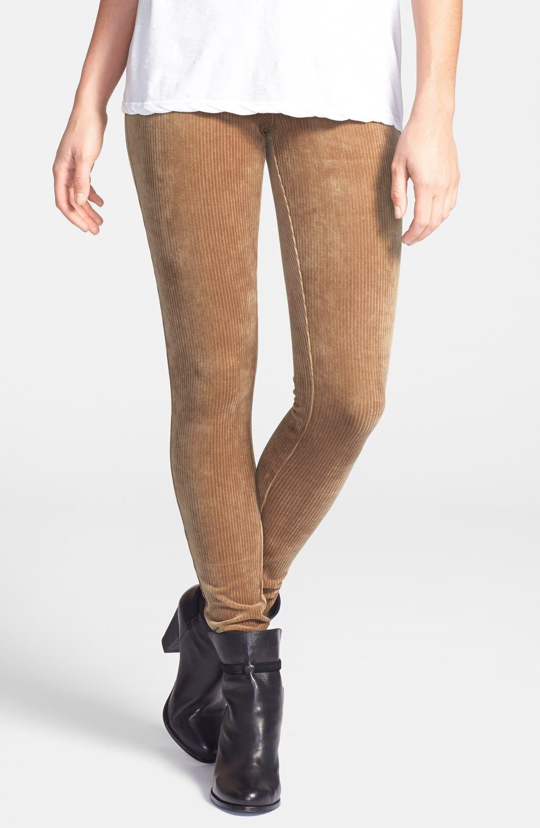 Main Image - Hue Corduroy Leggings