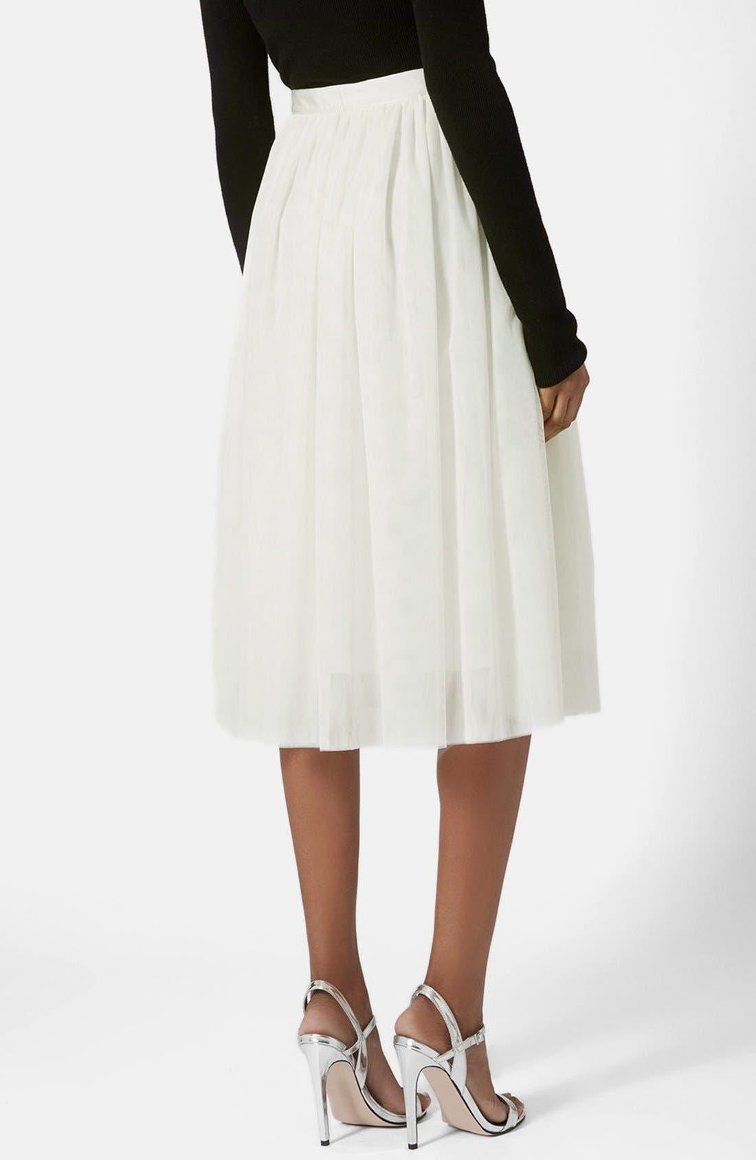 Alternate Image 2  - Topshop Ballerina Tulle Skirt