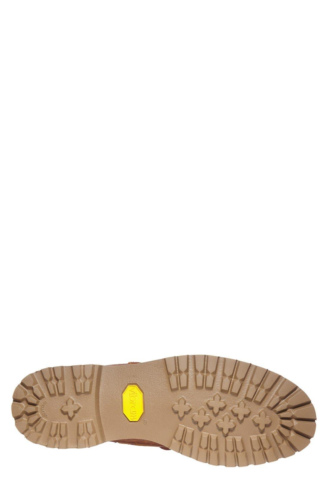 'Custer' Boat Shoe,                             Alternate thumbnail 3, color,                             Whiskey