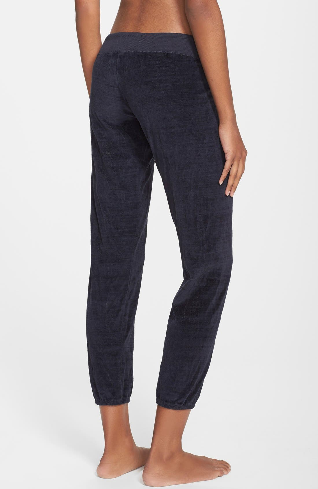 Alternate Image 2  - Monrow 'Cosmic' Vintage Velour Sweatpants