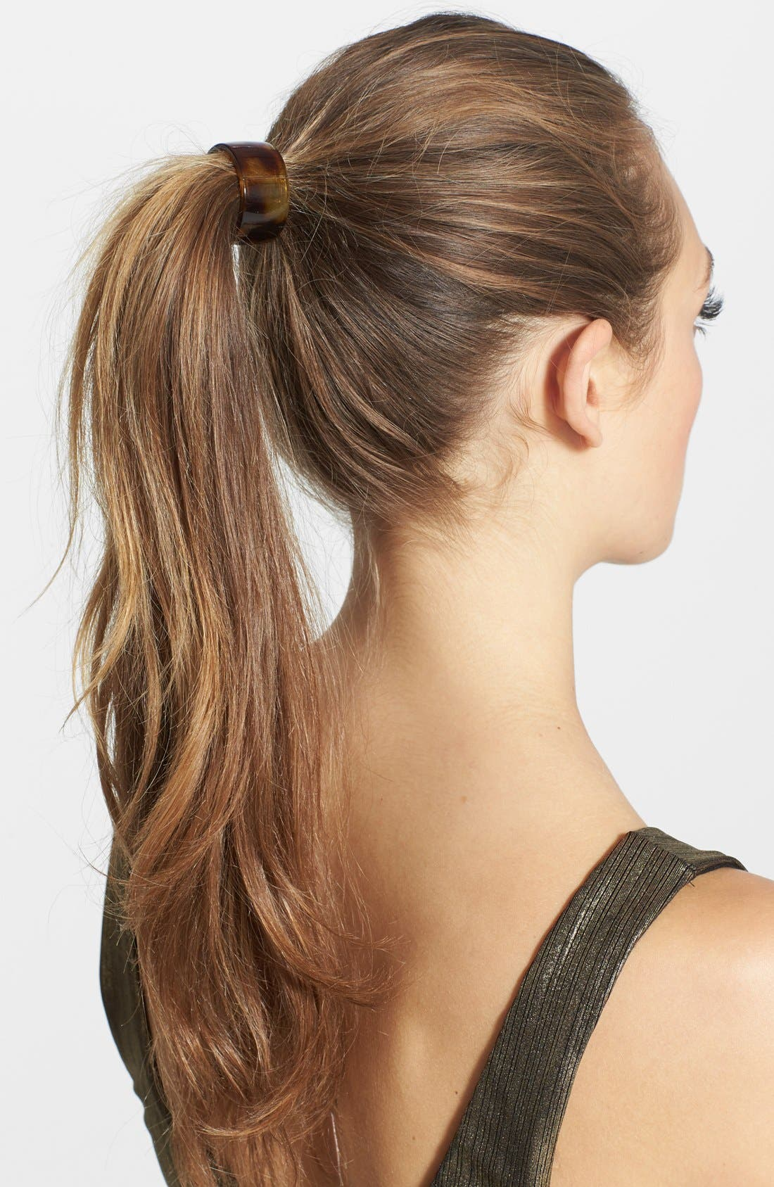 Main Image - France Luxe Elodie Cuff Ponytail Holder