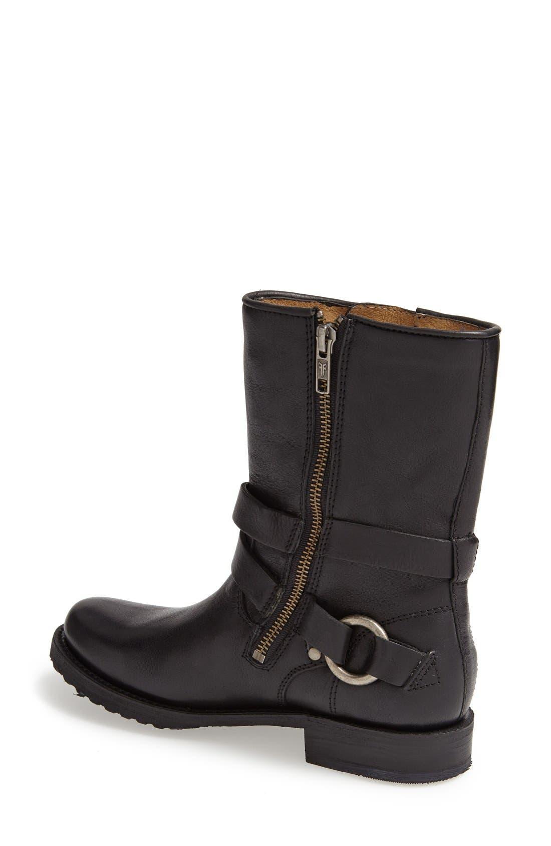Alternate Image 2  - Frye 'Veronica' Crisscross Strap Short Leather Boot (Women)