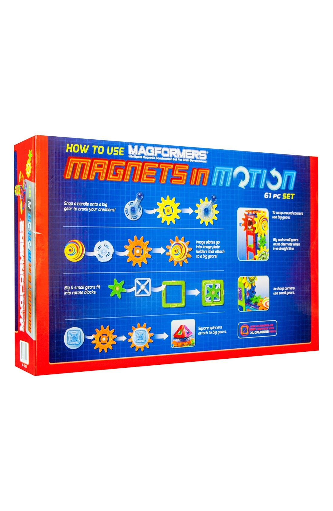 'Magnets in Motion' Construction Set,                             Alternate thumbnail 3, color,                             Multi