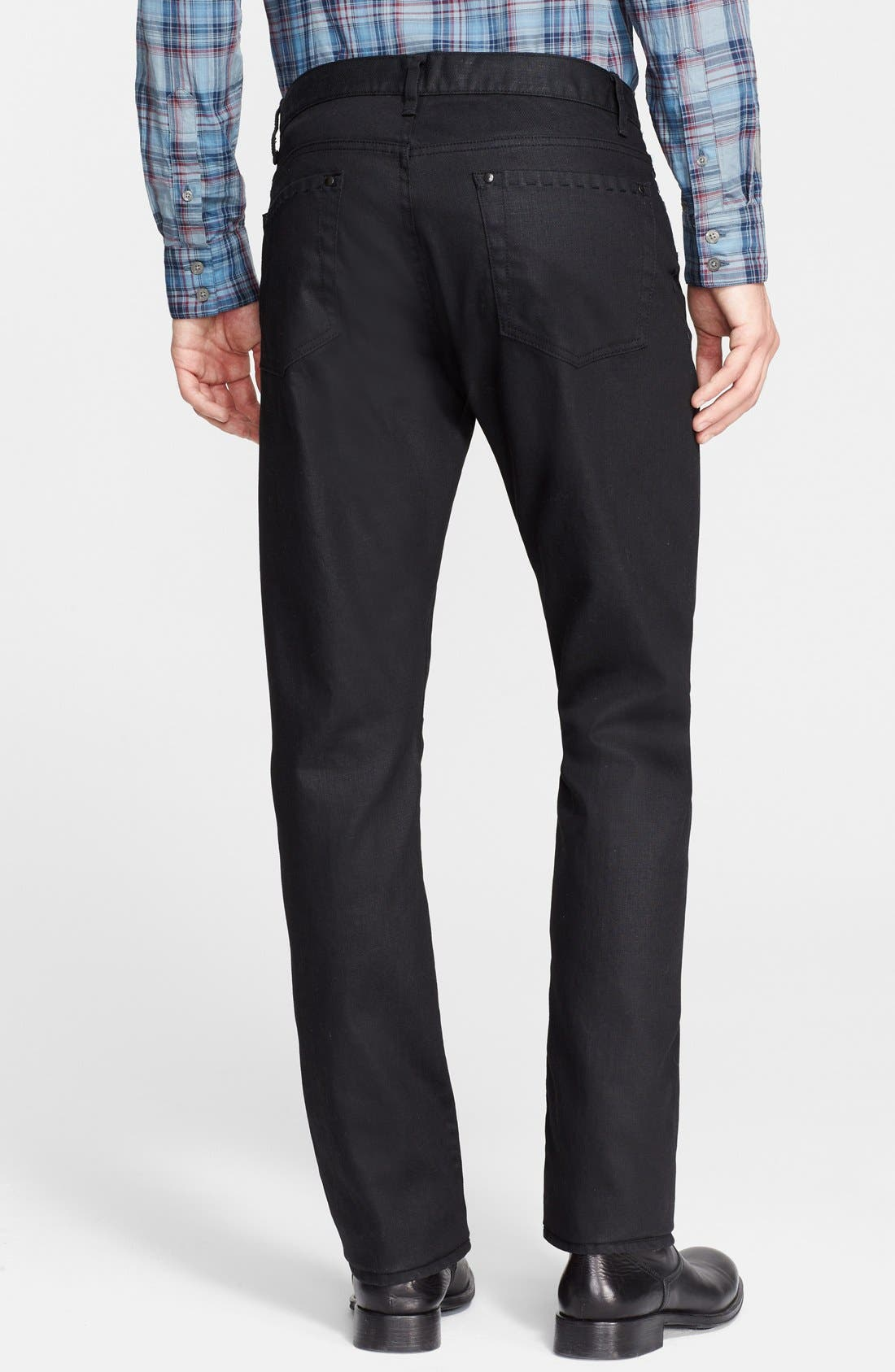 Alternate Image 2  - John Varvatos Collection Slim Fit Jeans (Ink)