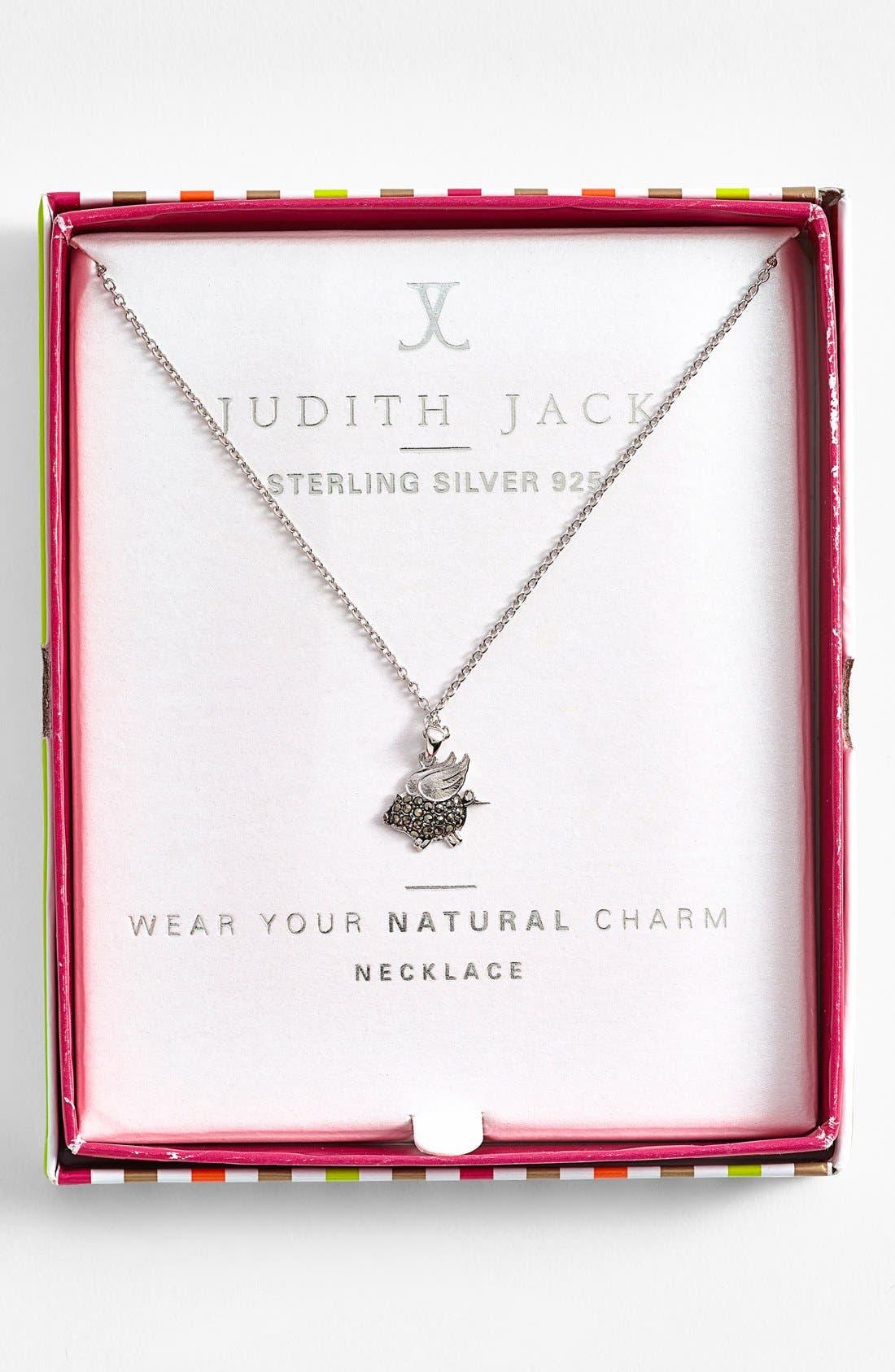Alternate Image 3  - Judith Jack 'Charmed Life' Boxed Pig Pendant Necklace