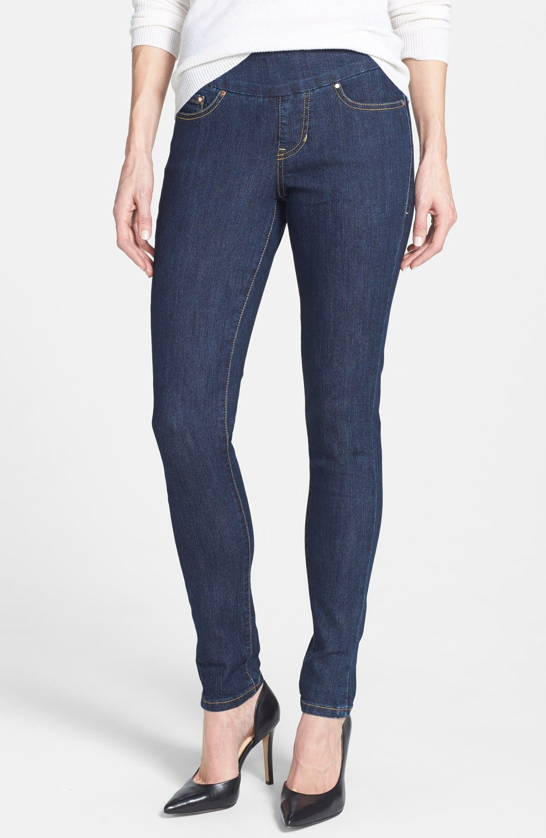 Alternate Image 1 Selected - Jag Jeans 'Nora' Pull On Stretch Skinny Jeans
