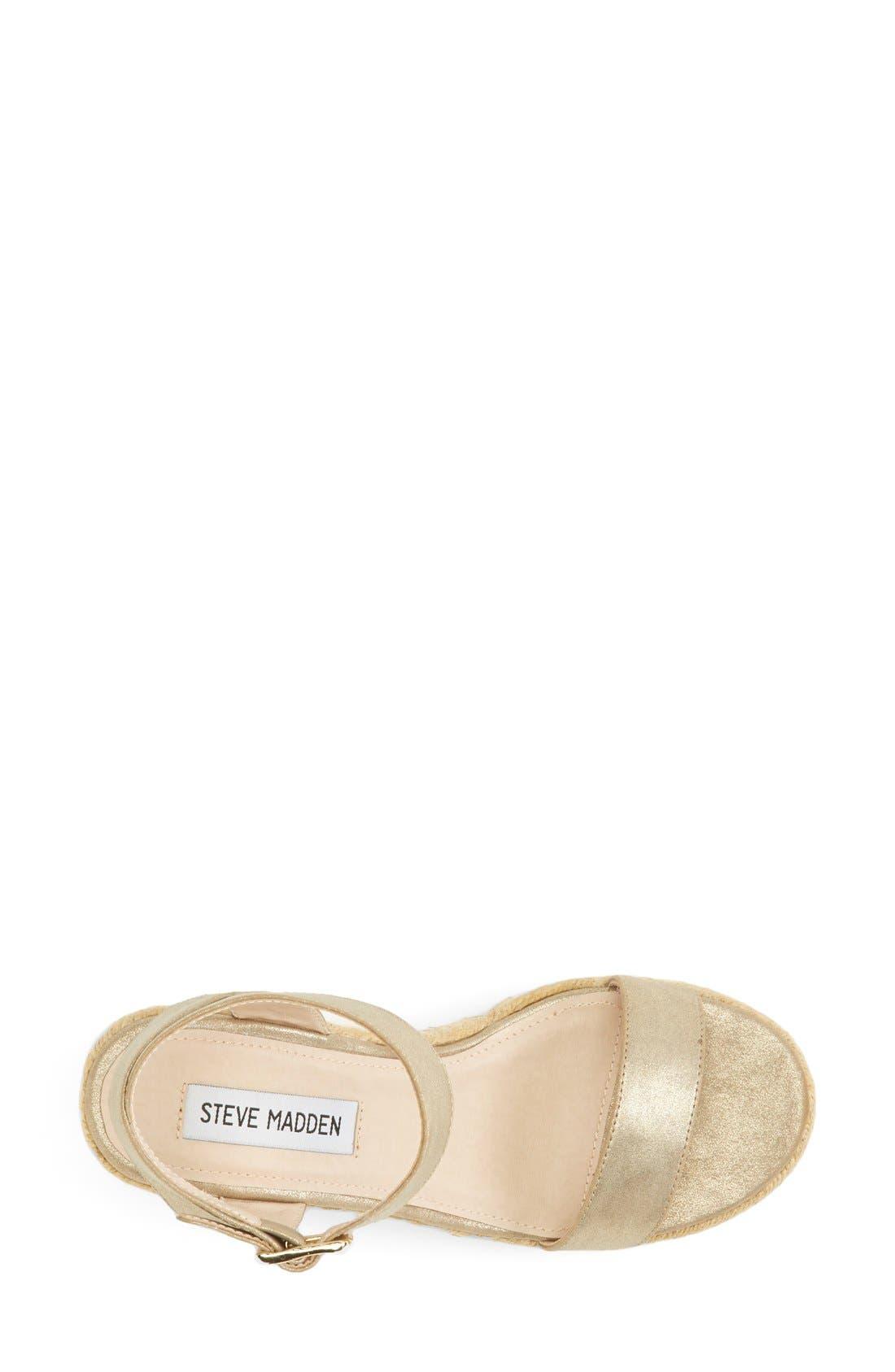 Alternate Image 3  - Steve Madden 'Seaside' Wedge Sandal (Women)