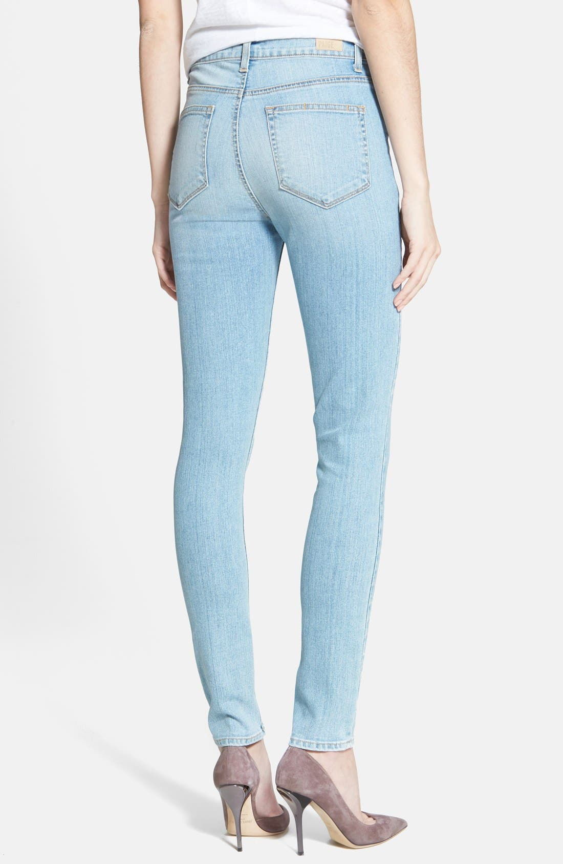 Alternate Image 2  - Paige Denim 'Margot' Ultra Skinny Jeans (Loren Blue)