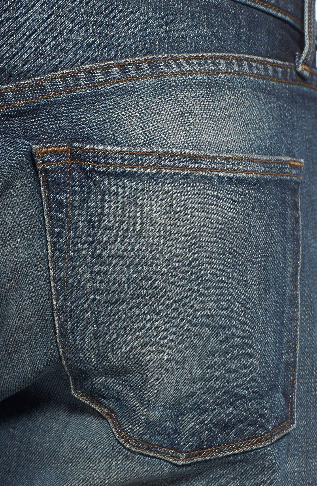 Alternate Image 4  - J Brand 'Kane' Slim Straight Leg Jeans (Bronson)