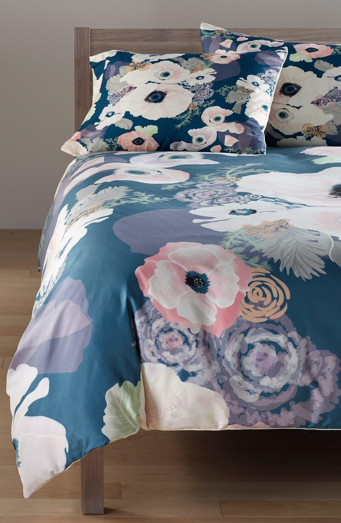 Khristian Howell Duvet Cover & Sham Set,                         Main,                         color, Blue