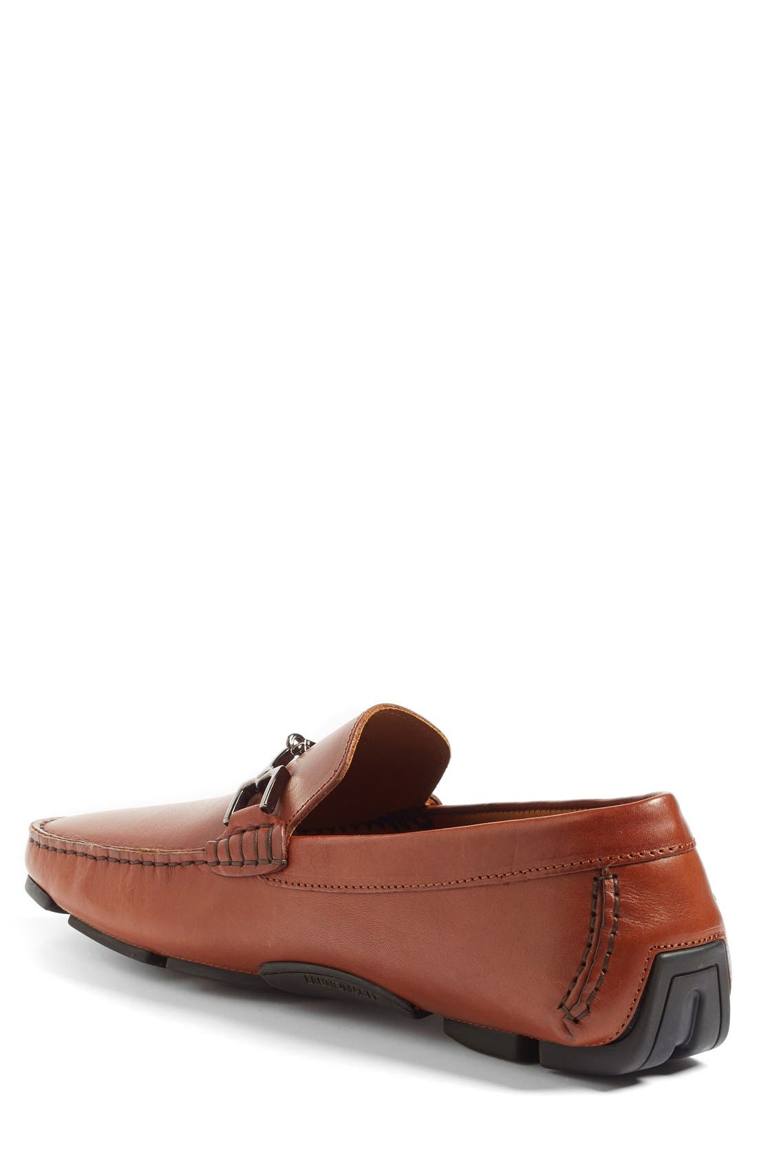 'Monza' Driving Shoe,                             Alternate thumbnail 2, color,                             Cognac Leather
