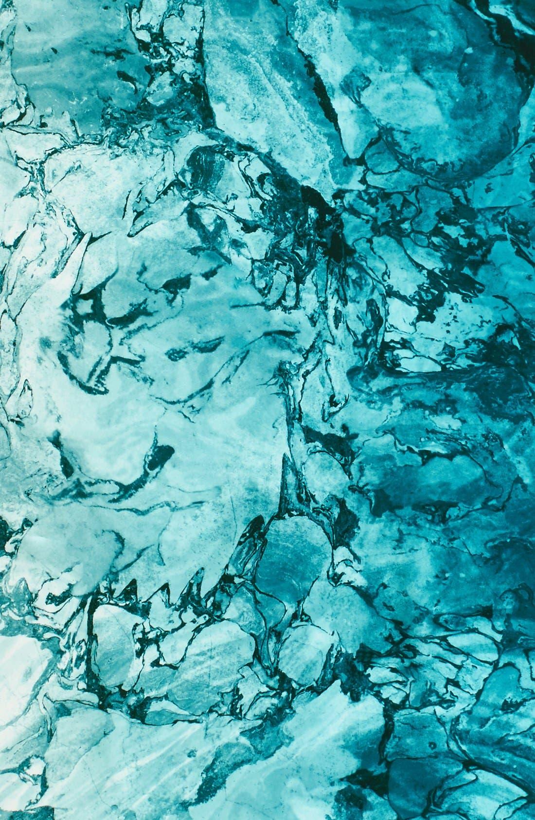 Alternate Image 3  - Nordstrom Studies in Oils Square Silk Scarf