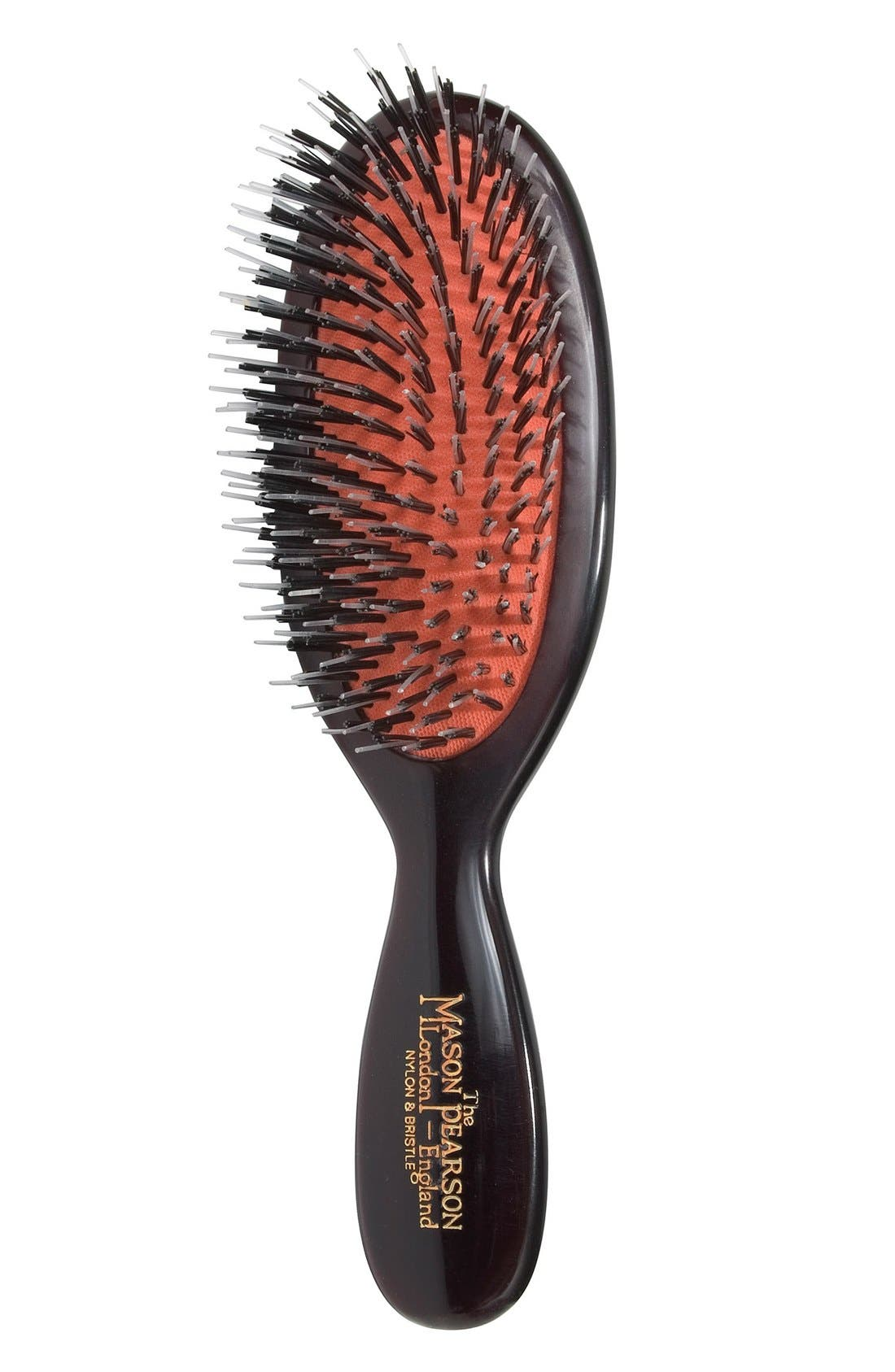 Mason Pearson Pocket Mixture Nylon & Boar Bristle Brush for Short Coarse to Normal Hair