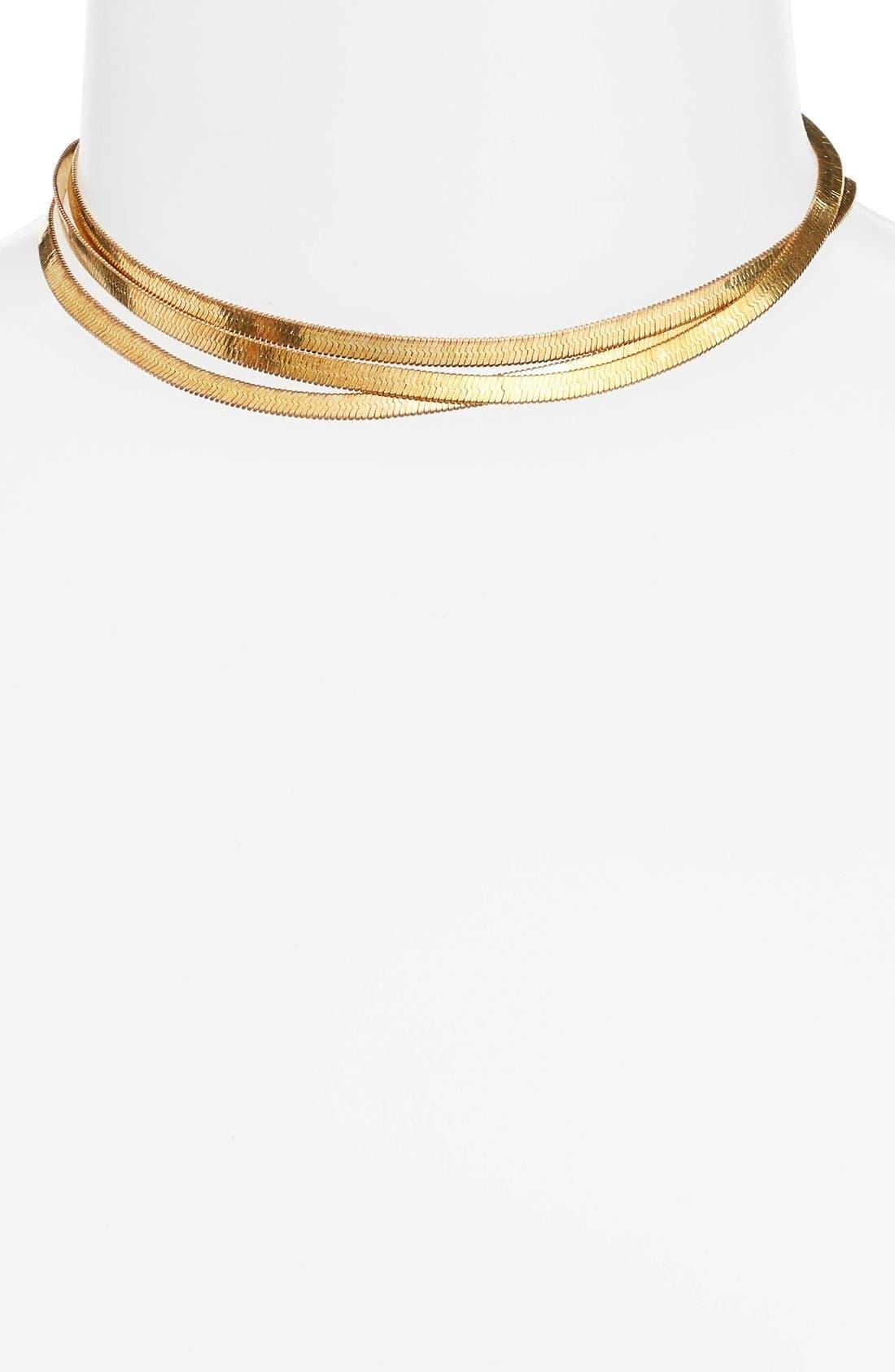 Main Image - FRASIER STERLING Valley Chain Wrap Choker