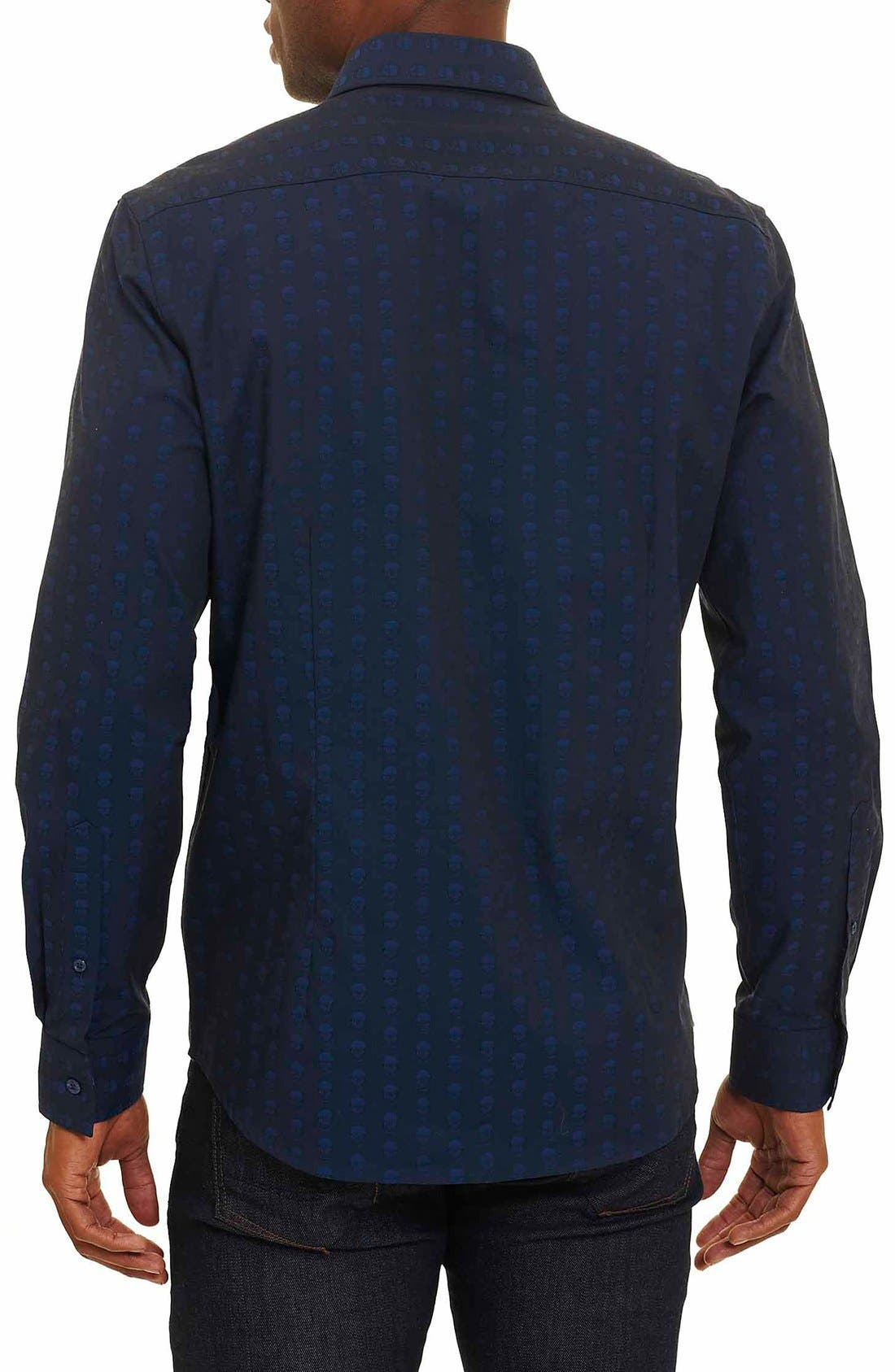 Alternate Image 2  - Robert Graham Deven Tailored Fit Sport Shirt